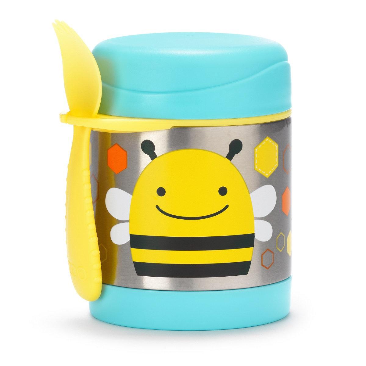可愛動物園保溫食物壺 - 小蜜蜂