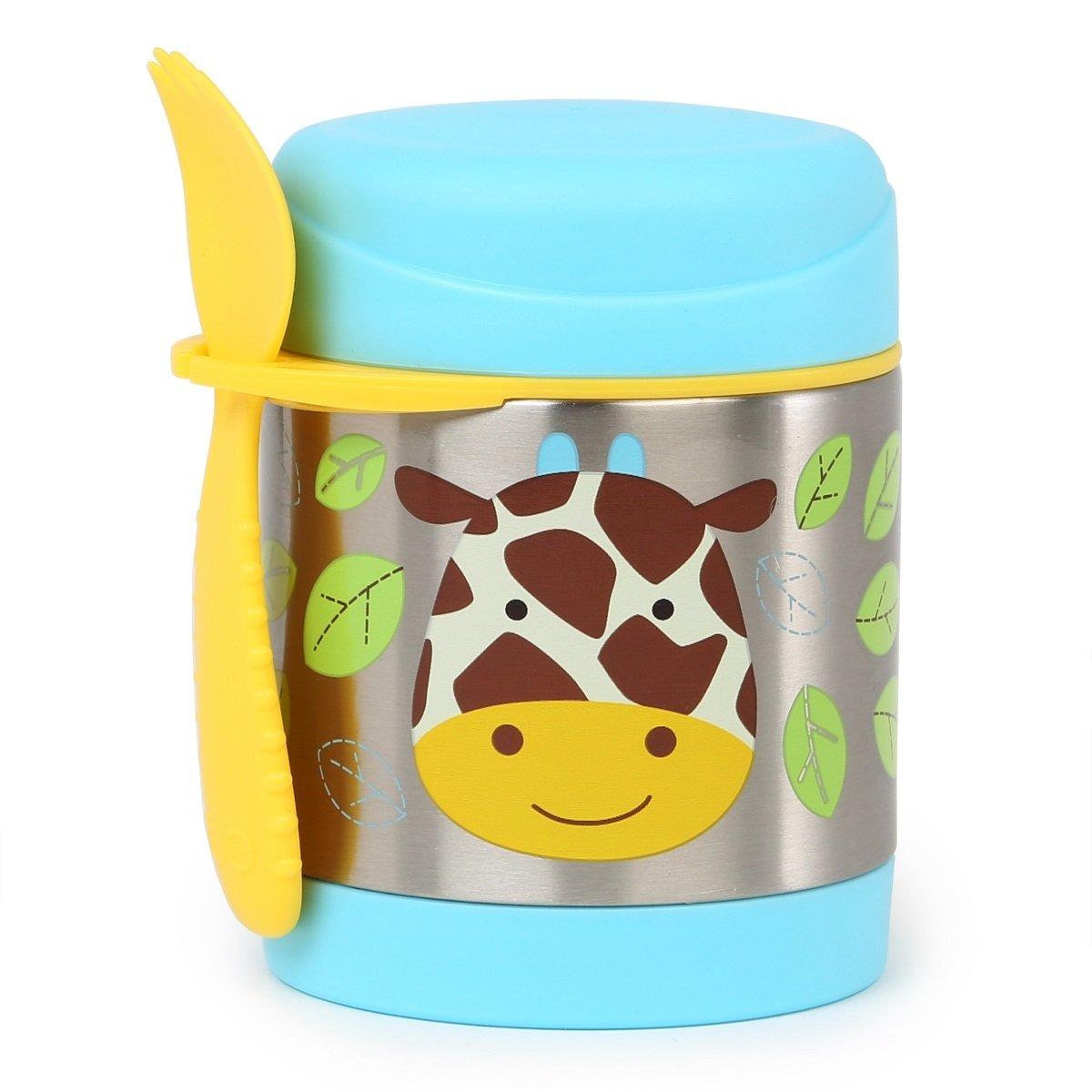 可愛動物園保溫食物壺 - 長頸鹿