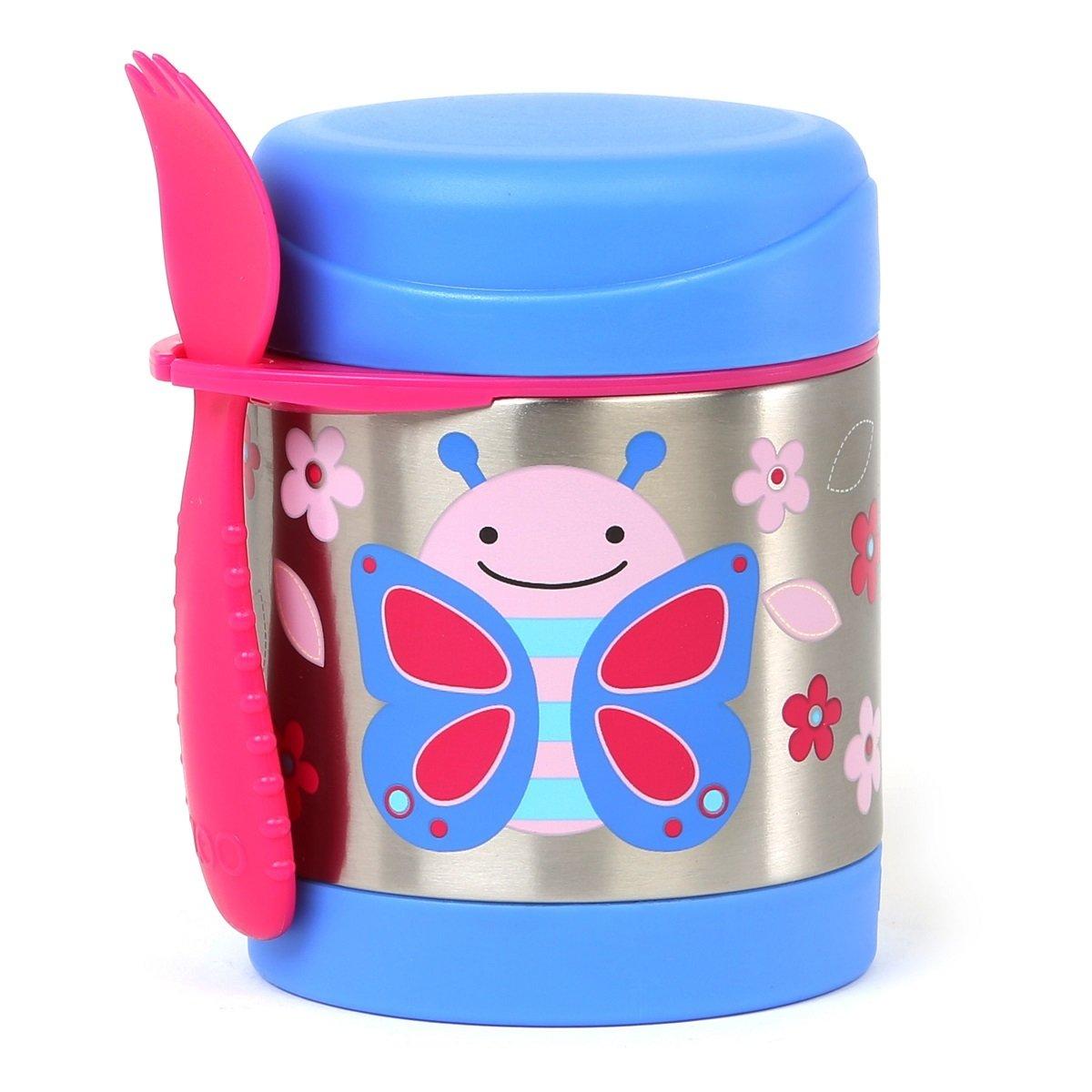 可愛動物園保溫食物壺 - 蝴蝶