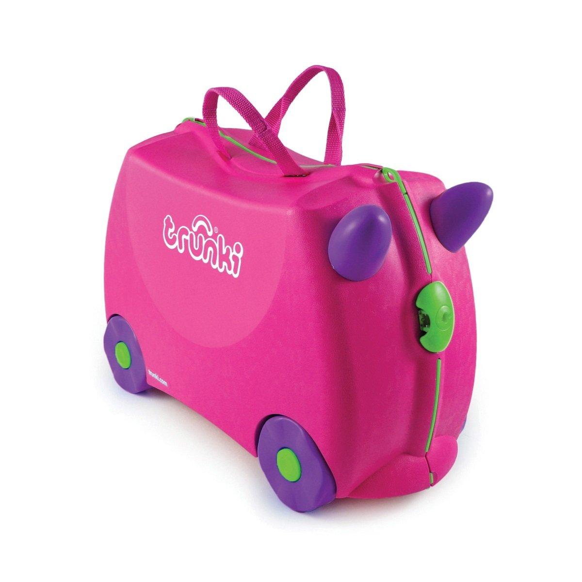 小朋友行李箱 - 桃紅色