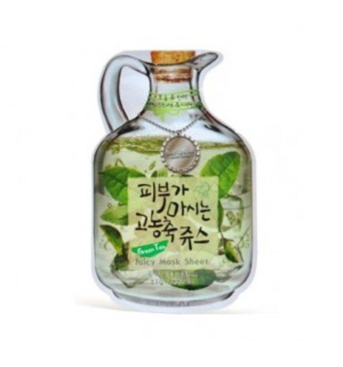 綠茶果漾面膜