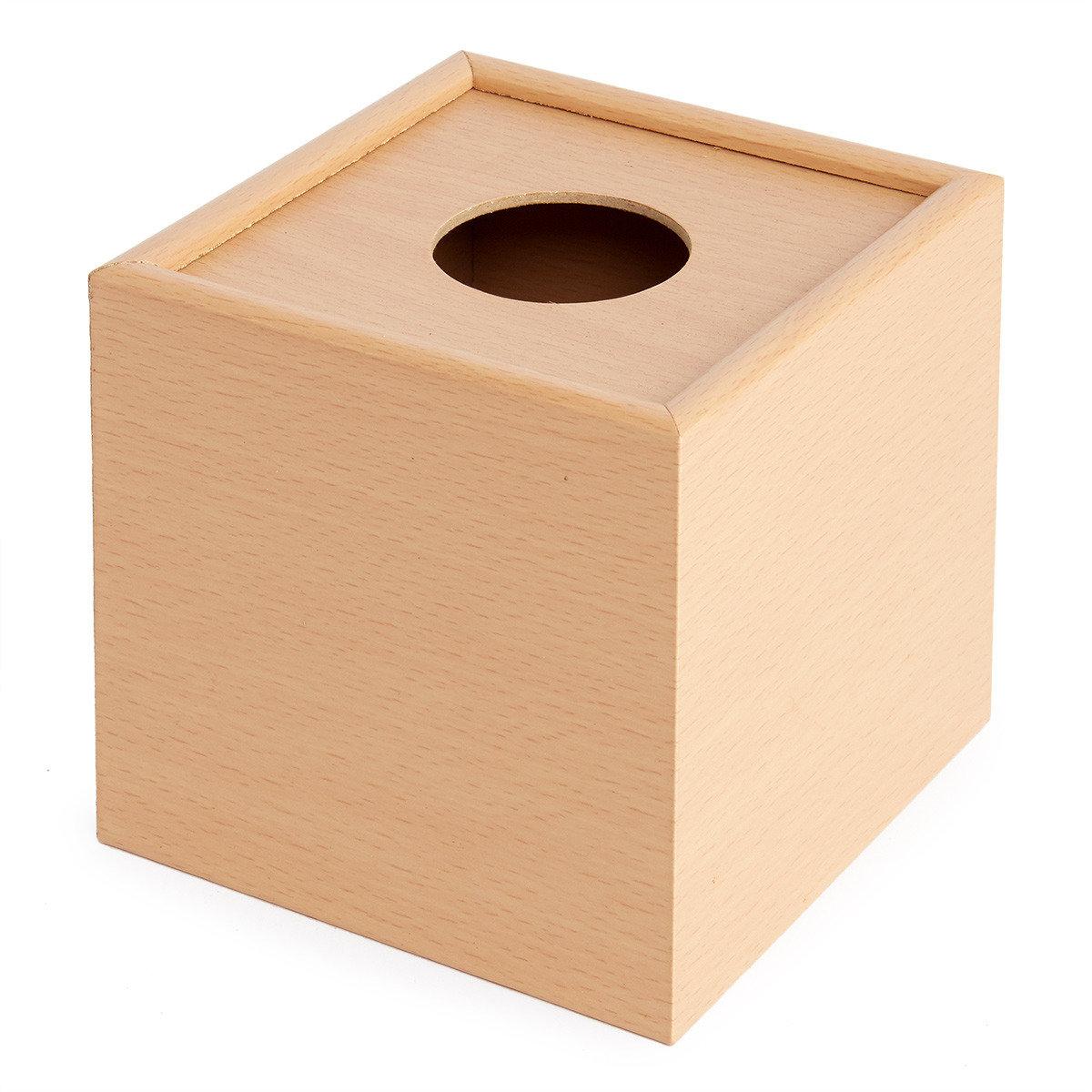 YK007TB 木製方型紙巾盒