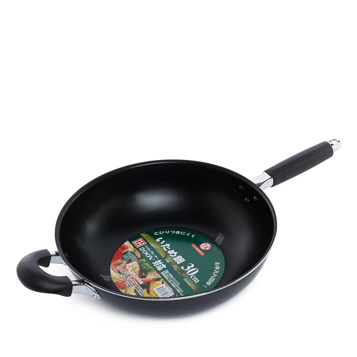 IH 30CM易潔單柄炒鍋(合電磁爐用)