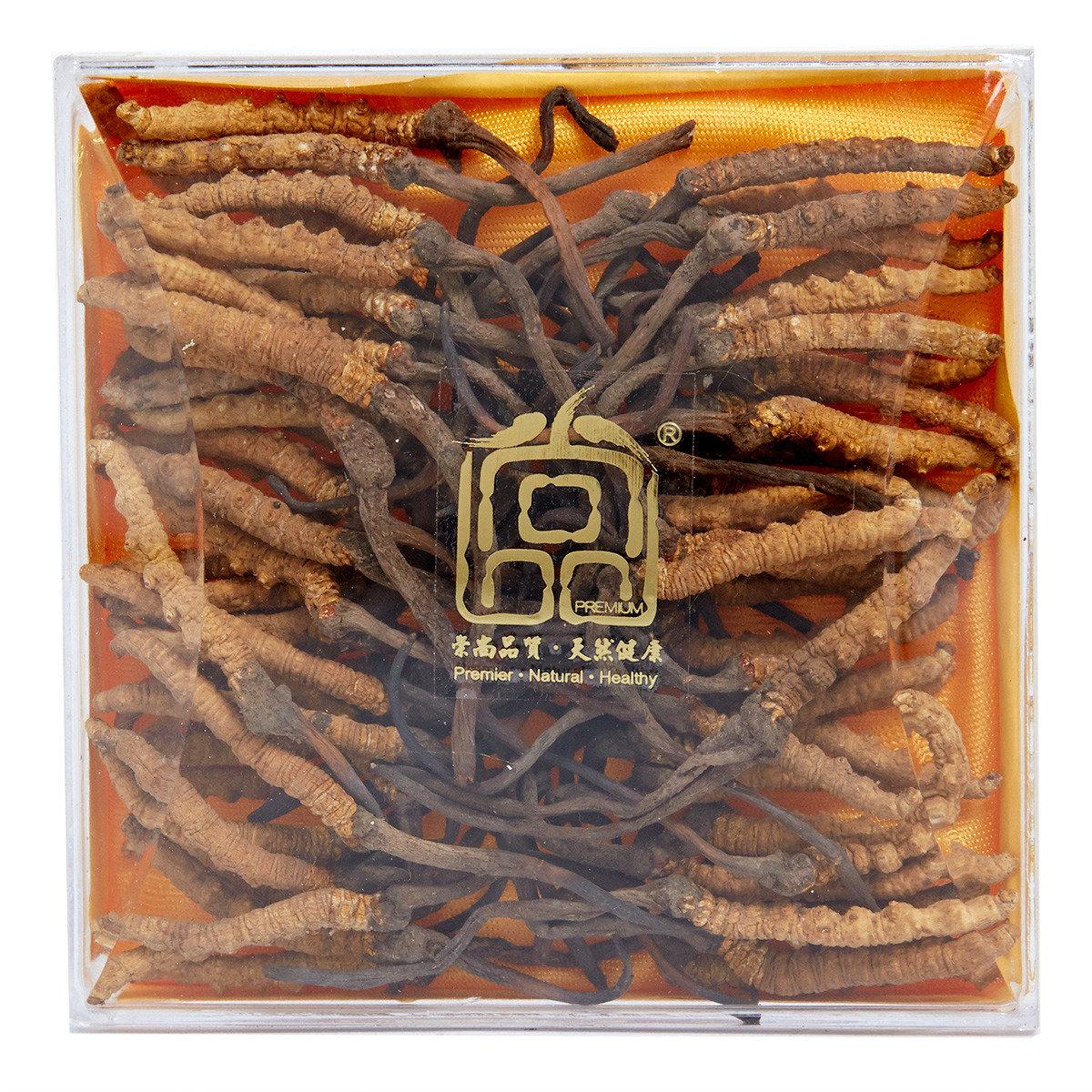 西藏冬蟲夏草(120-140條/ 每兩) (18.5克裝/盒)