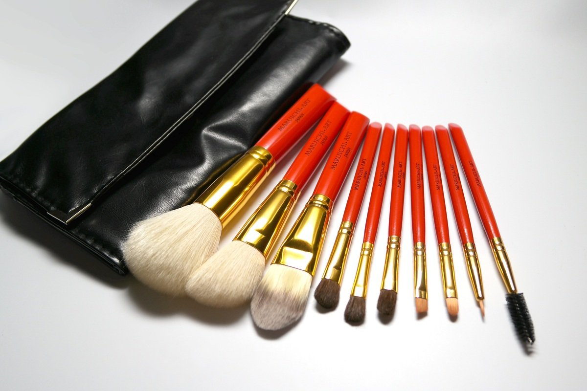 (日本製)携帶型專業化妝掃10枝套裝