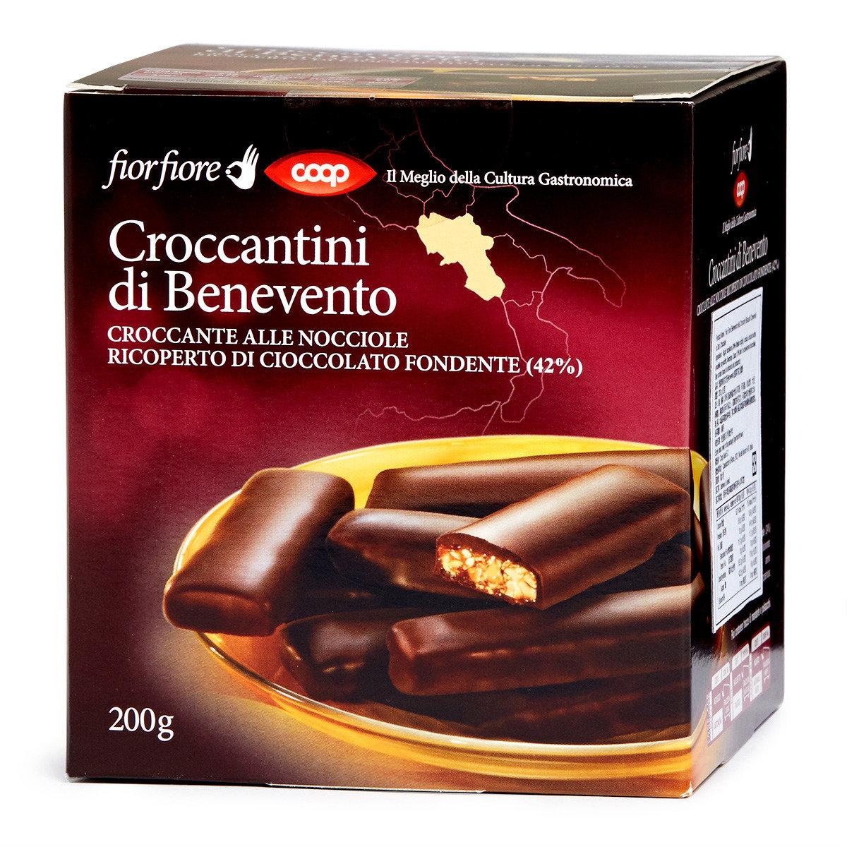 貝內文托堅果黑巧克力脆餅 (賞味期限: 2016年7月31日)
