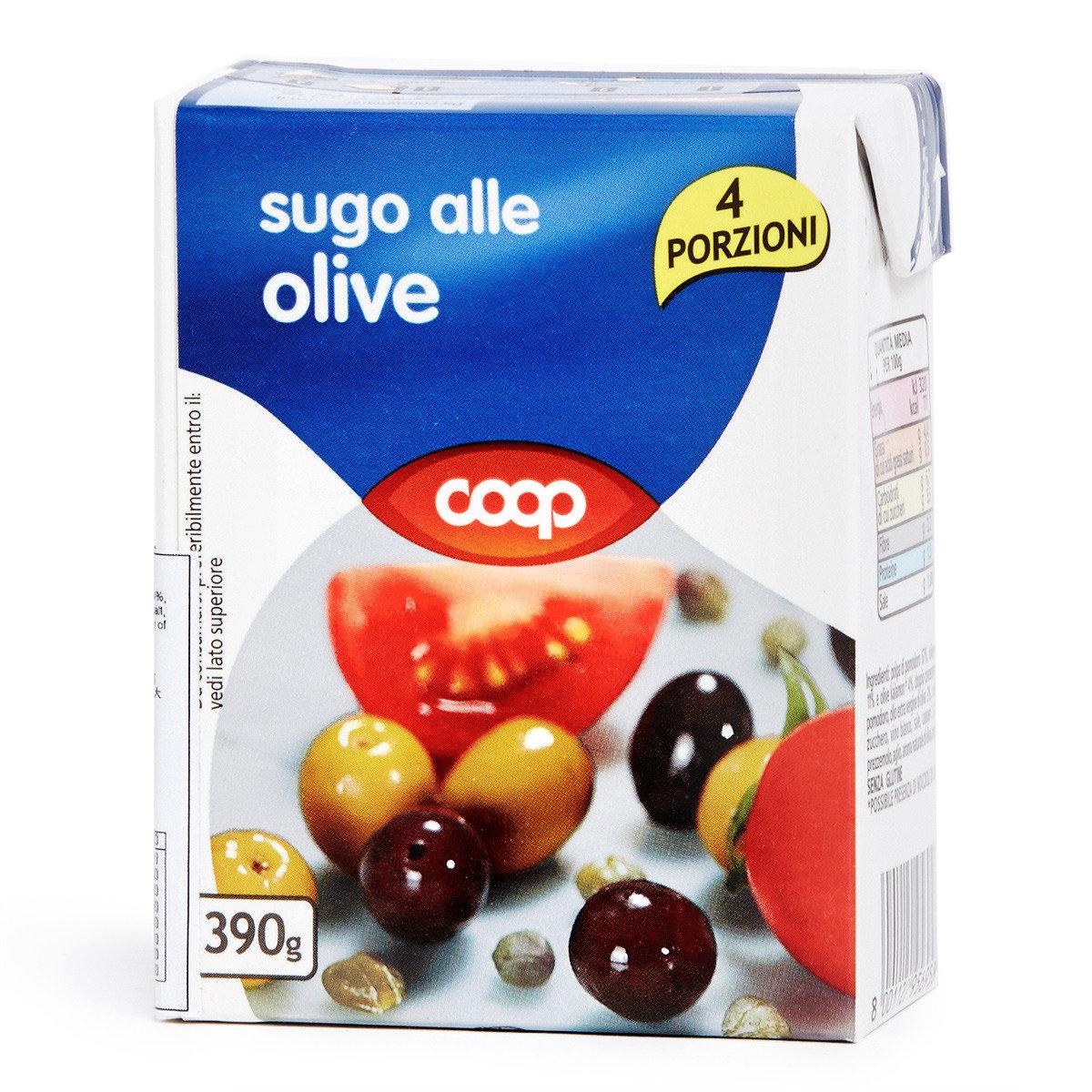 意大利粉蕃茄橄欖醬