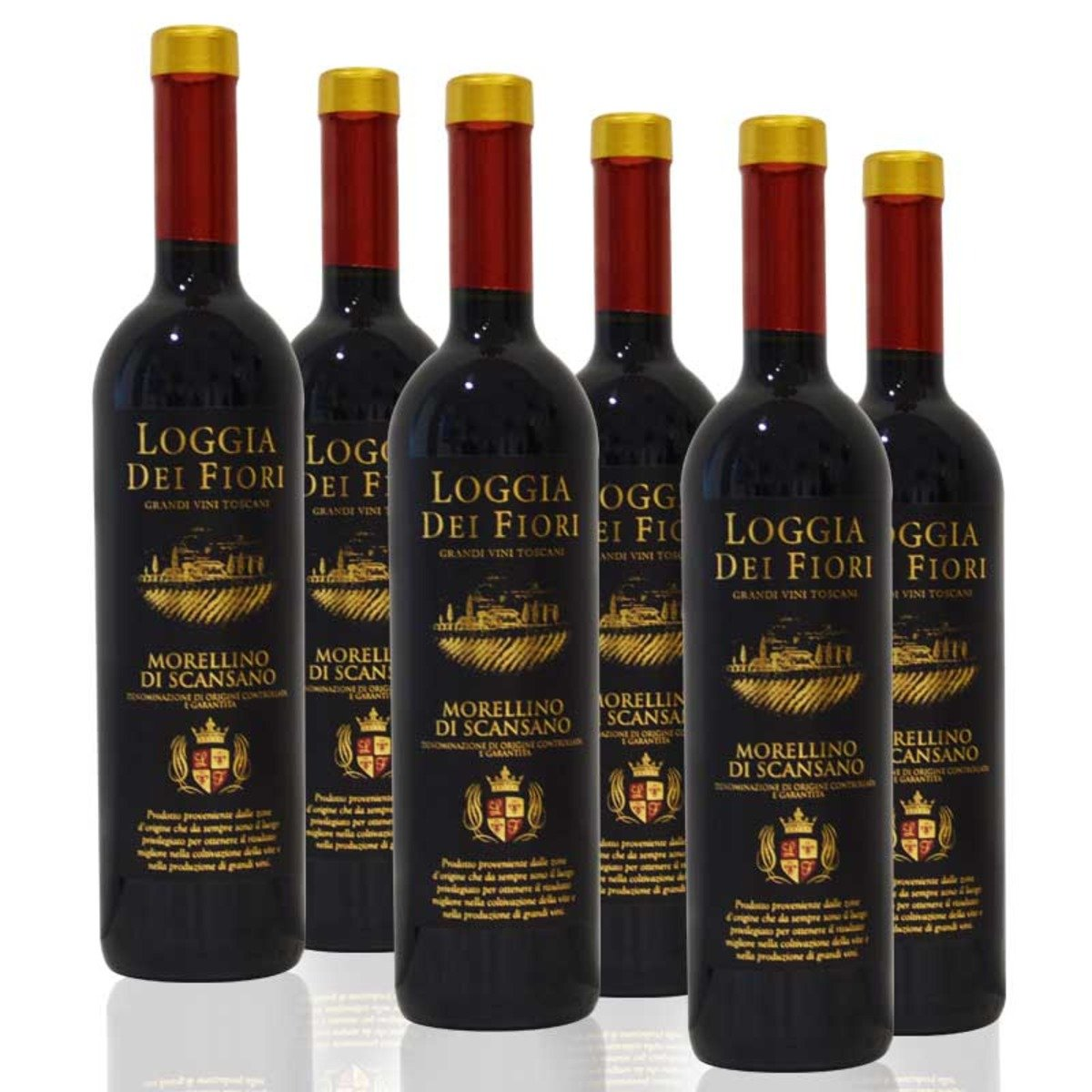Morellino di Scansano DOCG - 紅酒 (6瓶/箱)