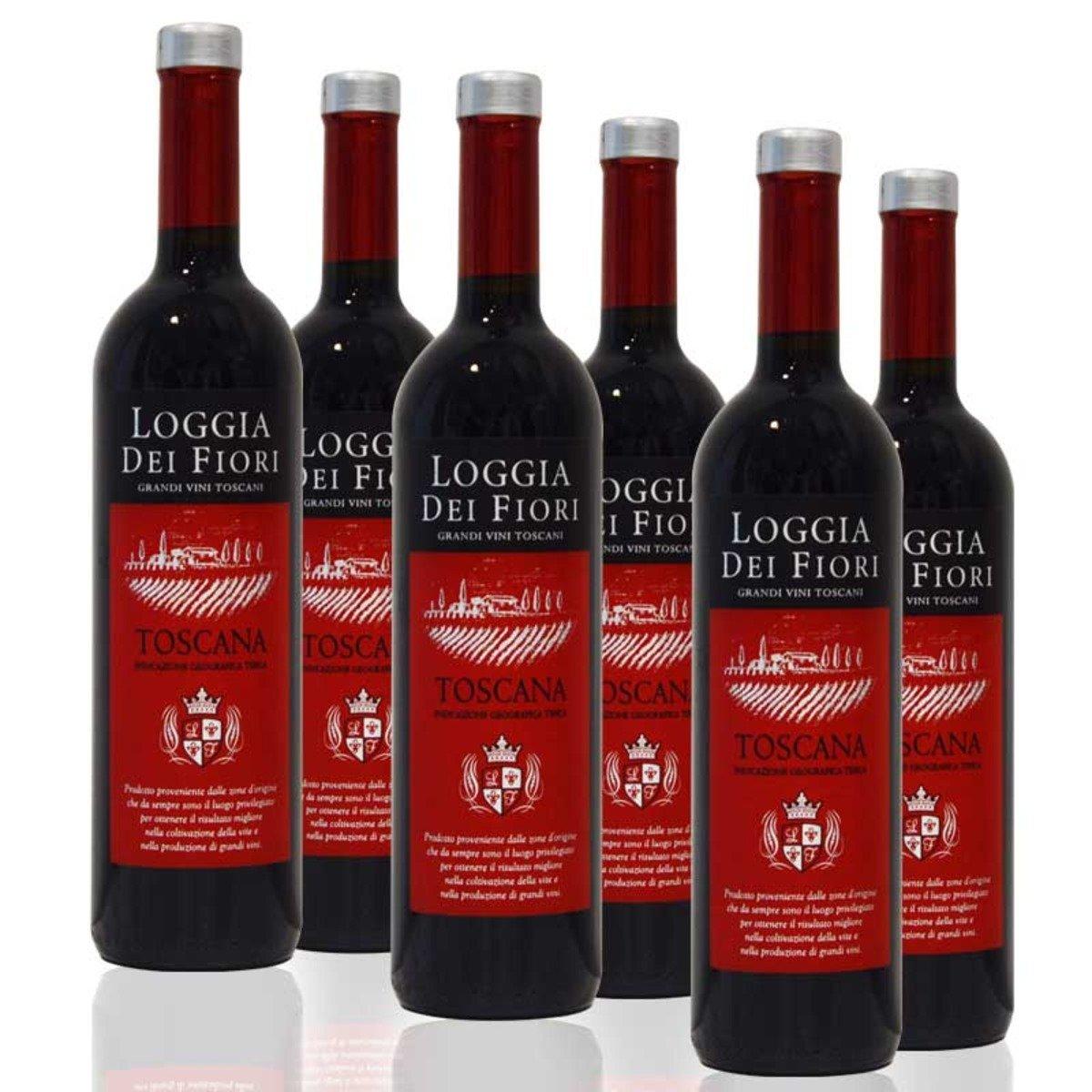 Rosso Toscana IGT - 紅酒 (6瓶/箱)