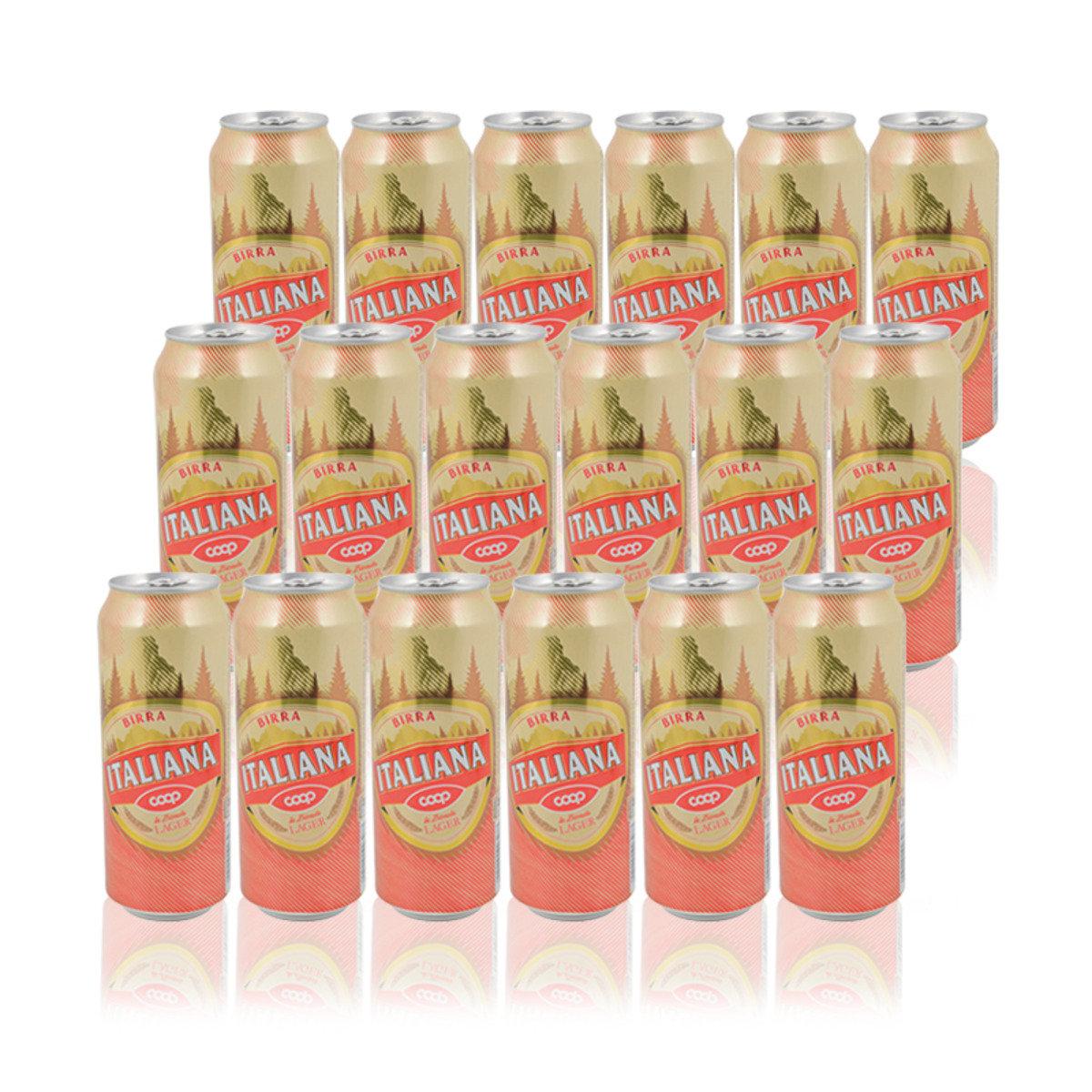 意大利罐裝啤酒(原箱/18罐)