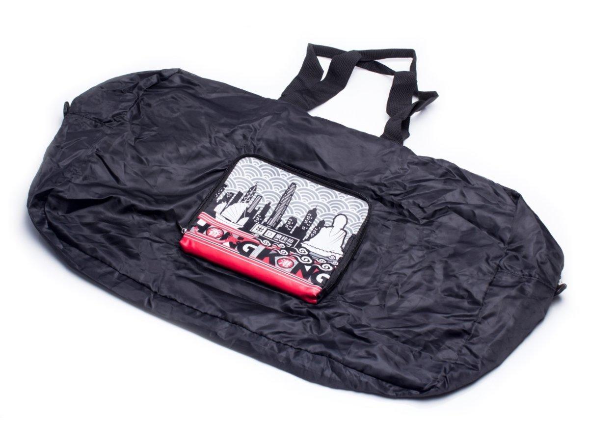 香港城市摺疊旅行袋