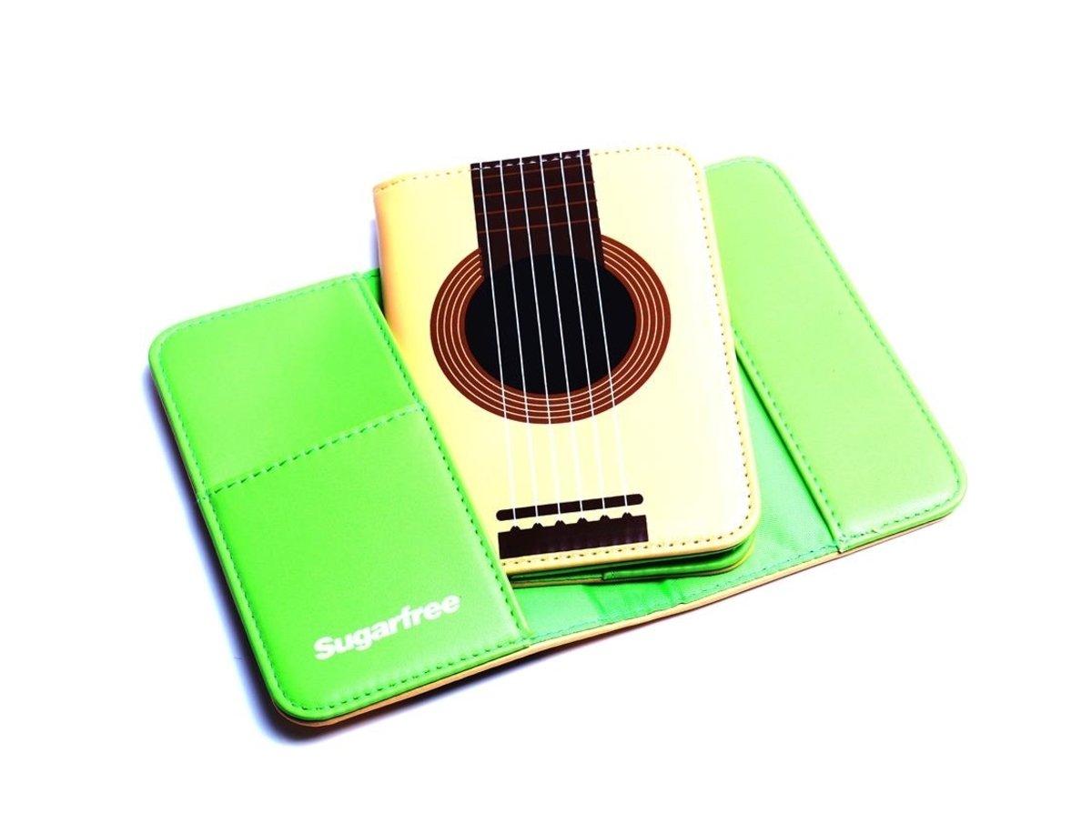 旅遊護照夾 (綠)