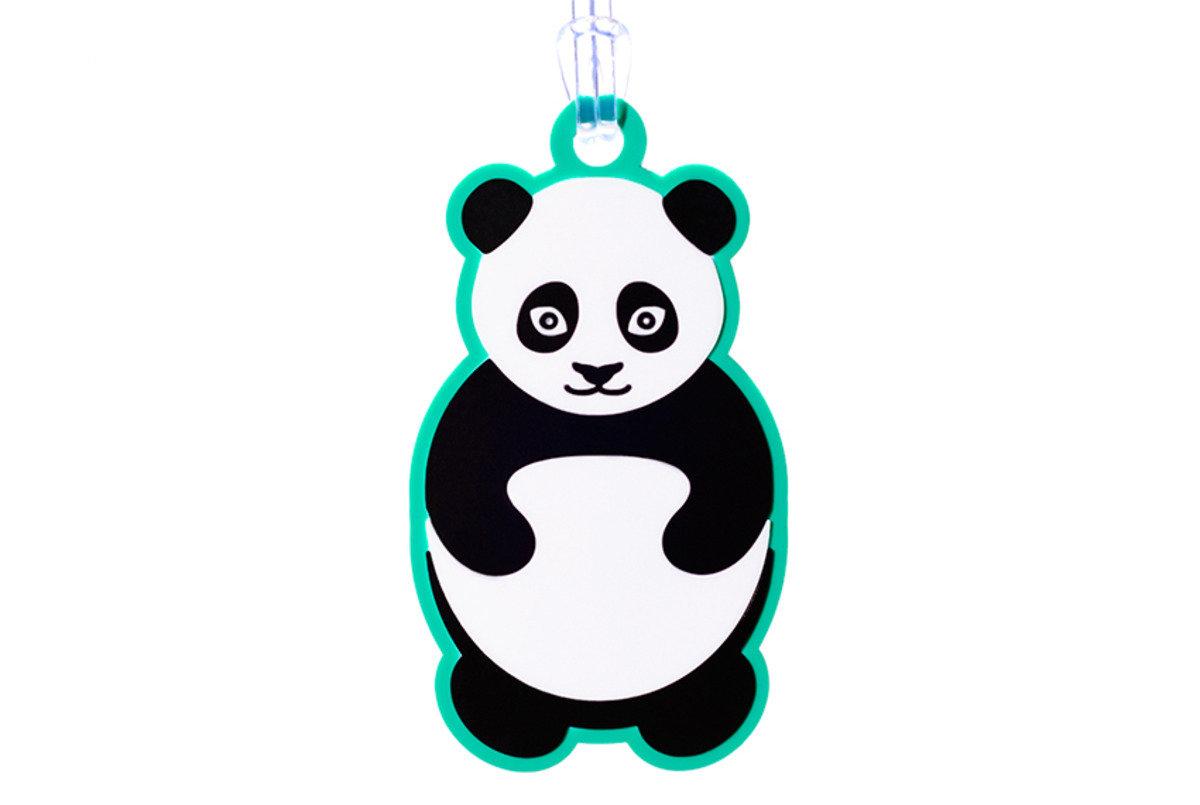 熊貓行李牌
