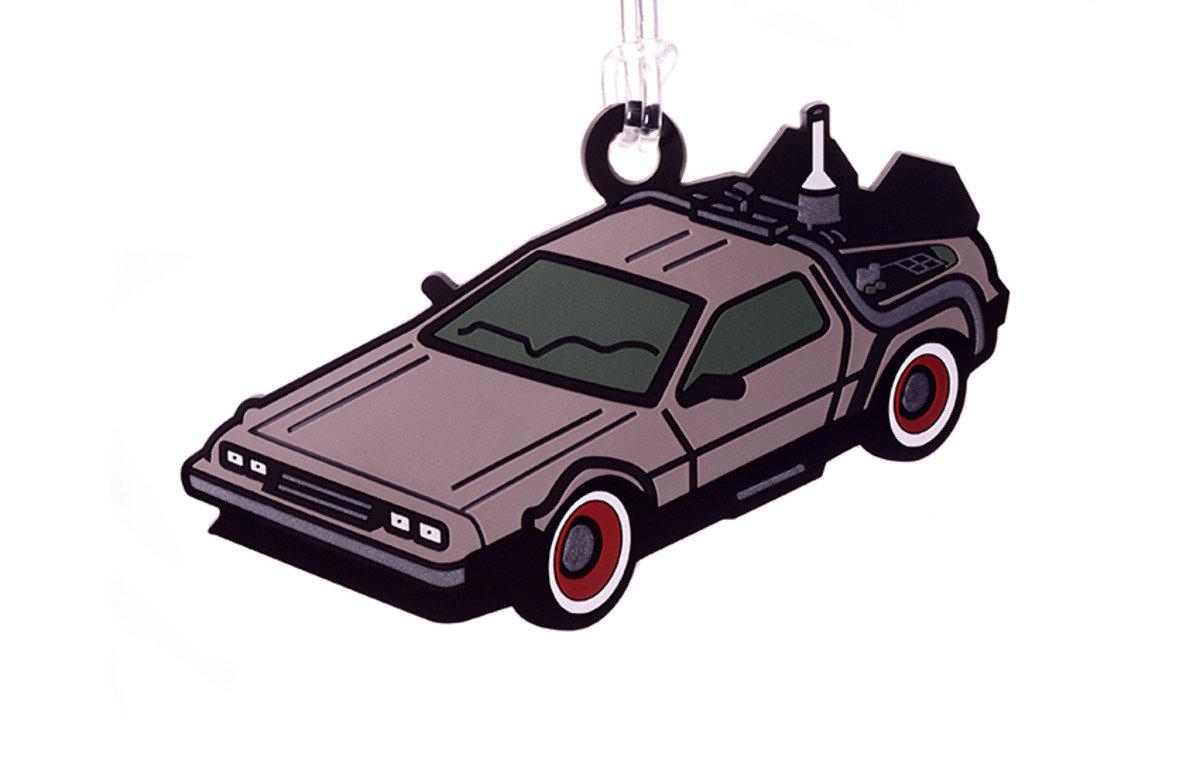 DeLorean 行李牌
