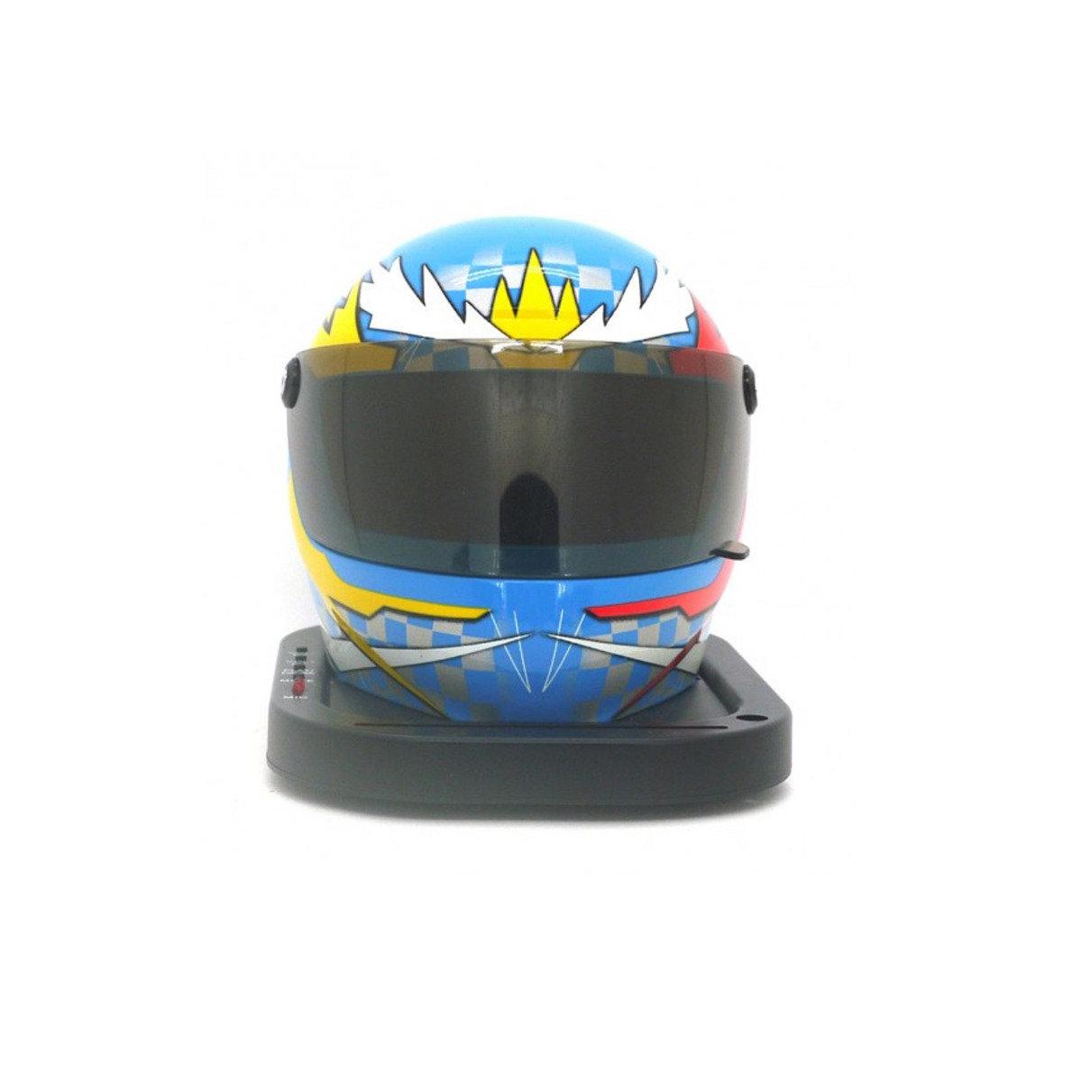 迷你頭盔型揚聲器 - 粉藍