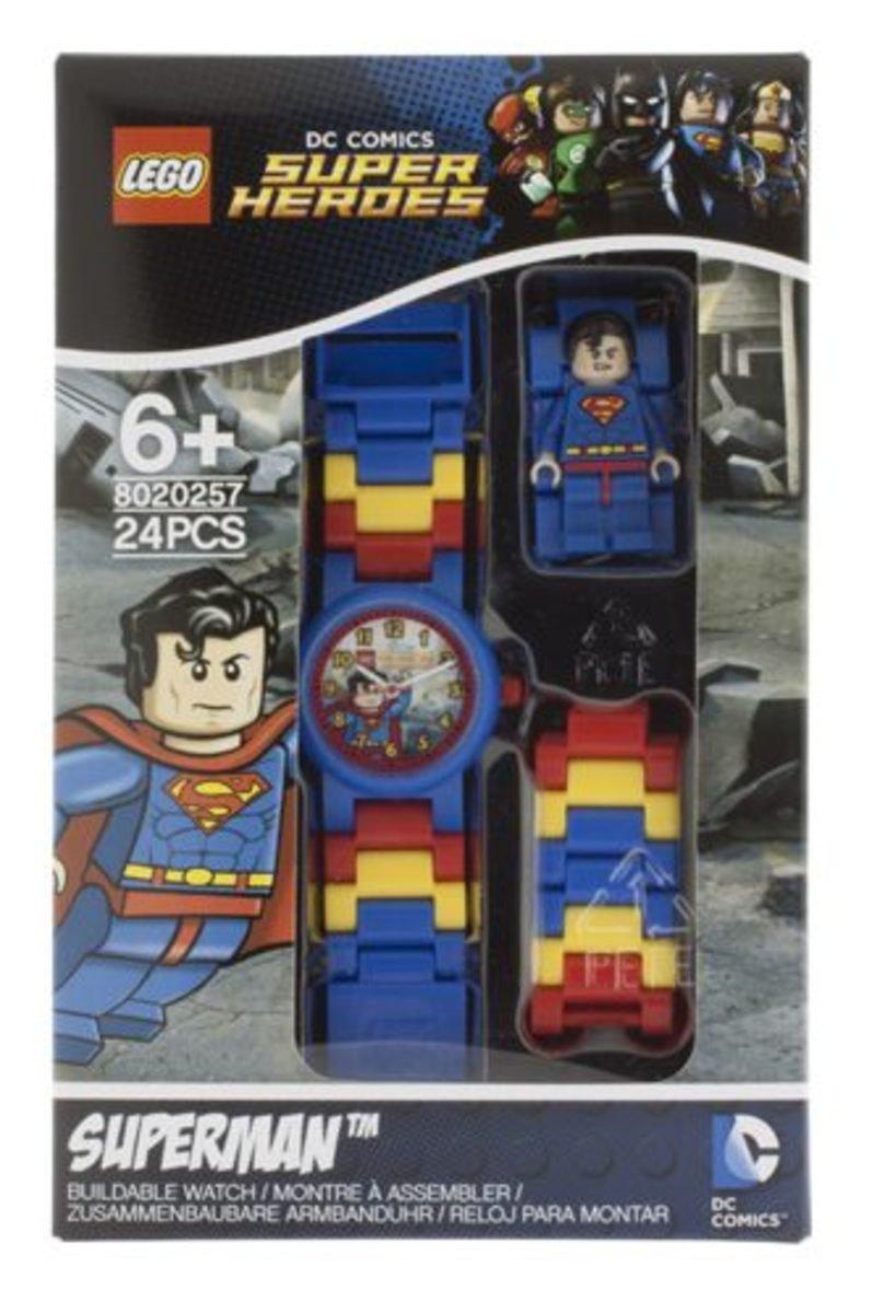 樂高兒童手錶人偶系列-超級英雄系列 超人