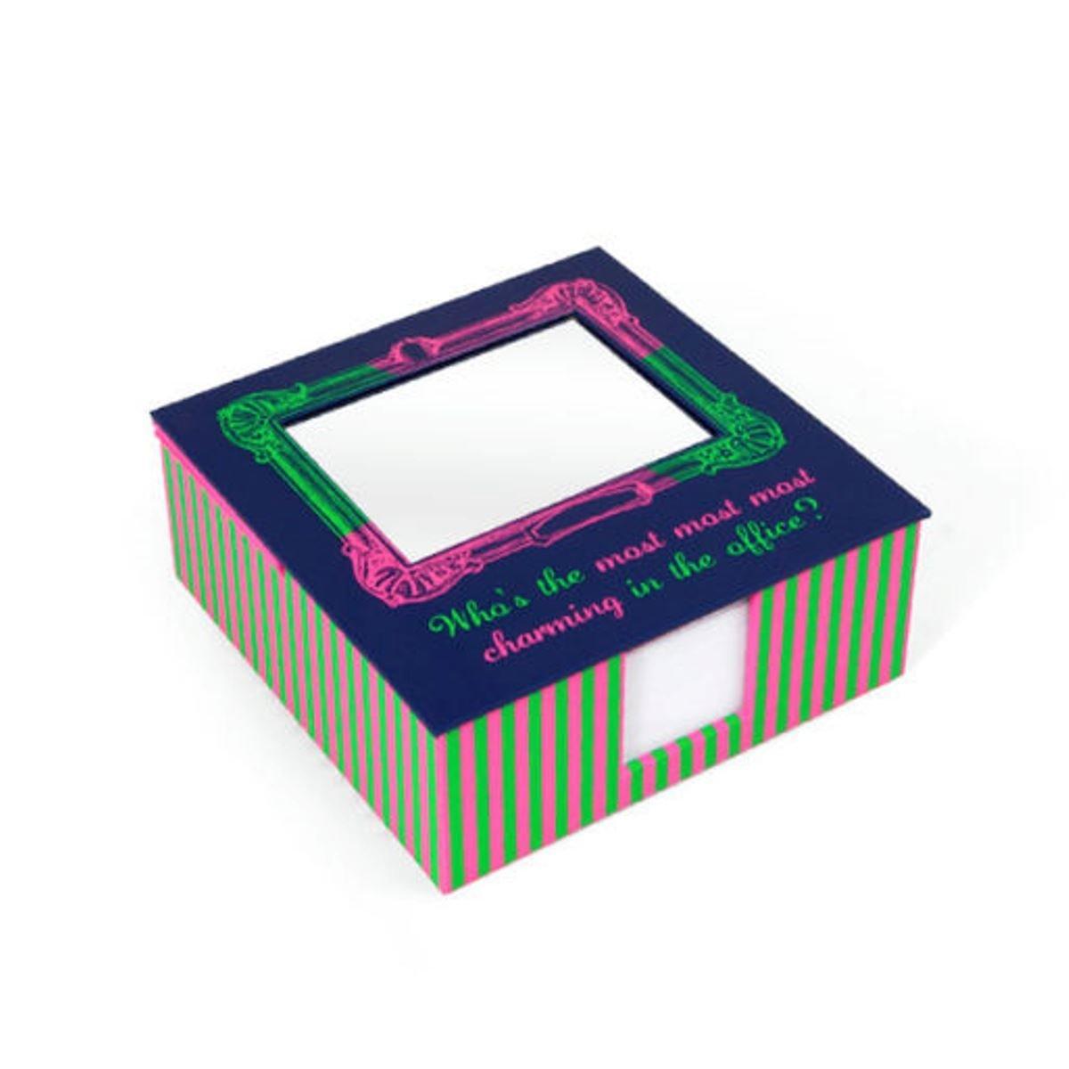 便條紙盒 (誰是辦公室最迷人?)