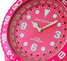 糖果色世界時間手錶 - 粉紅