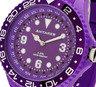 糖果色世界時間手錶 - 紫