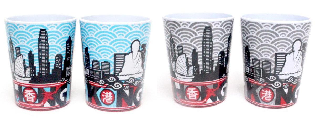 香港城市膠杯 (藍)