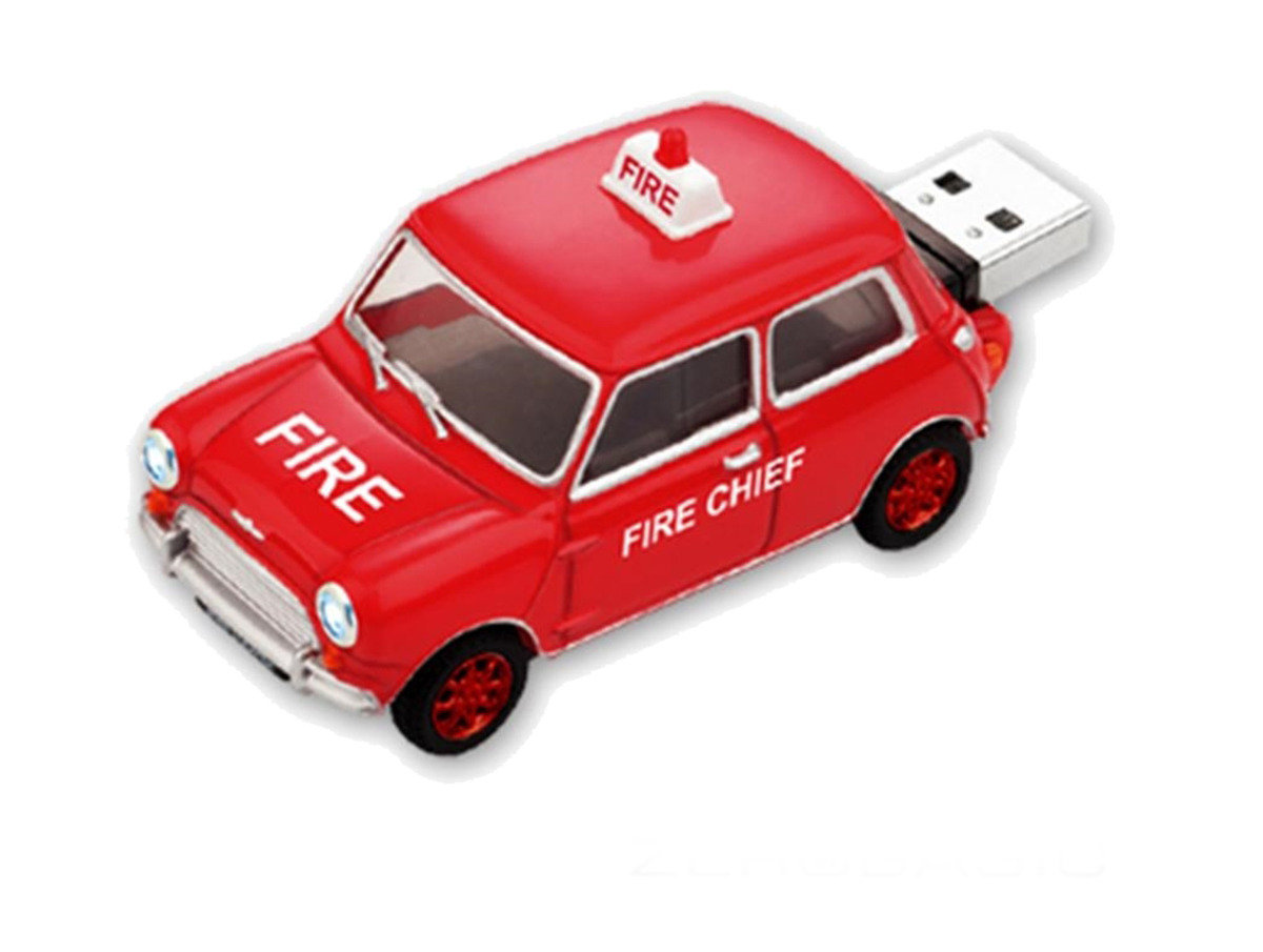 Mini Cooper 消防車 4G隨身碟