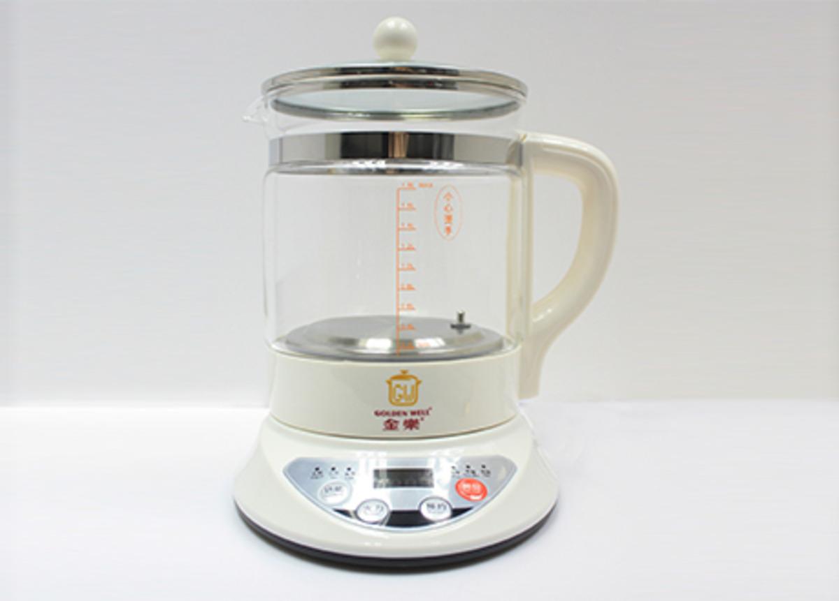 Goldenwell® 微電腦多功能養生壺 約1.8公升