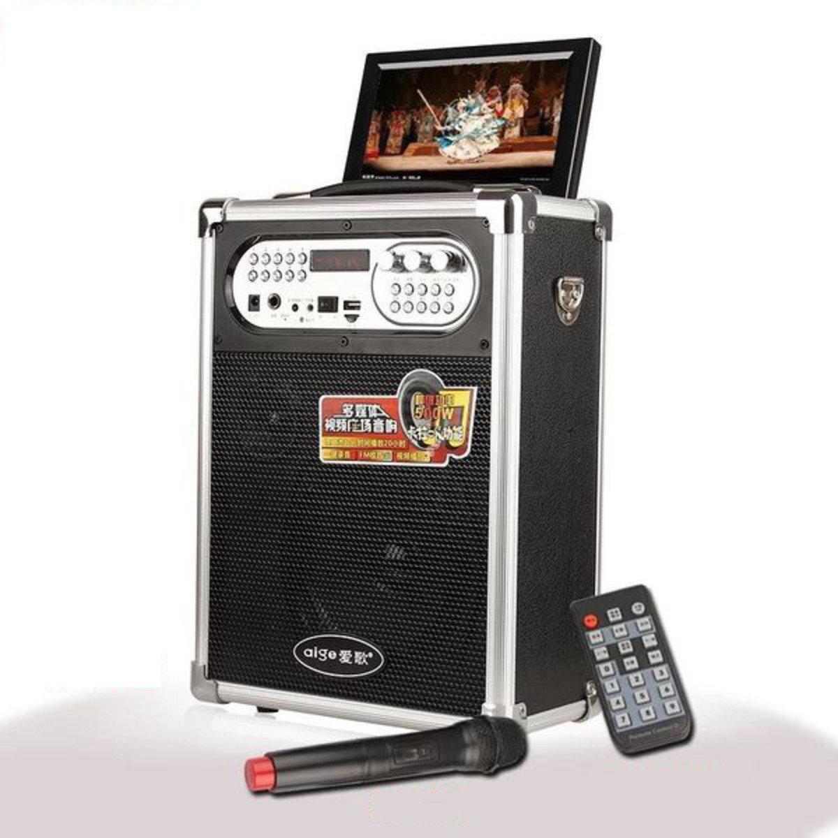 無線便攜卡拉OK演講擴音器