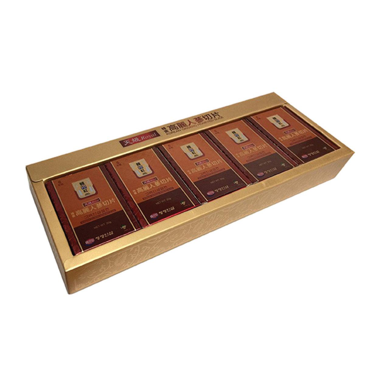 韓印紅蜂蜜高麗蔘切片
