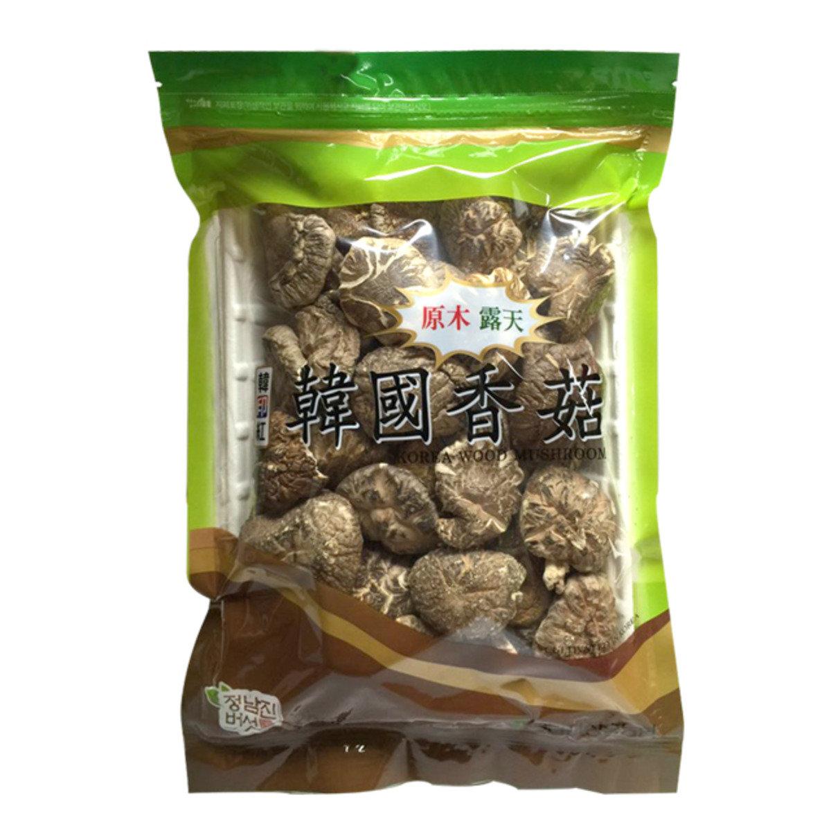 韓國原木露天香菇
