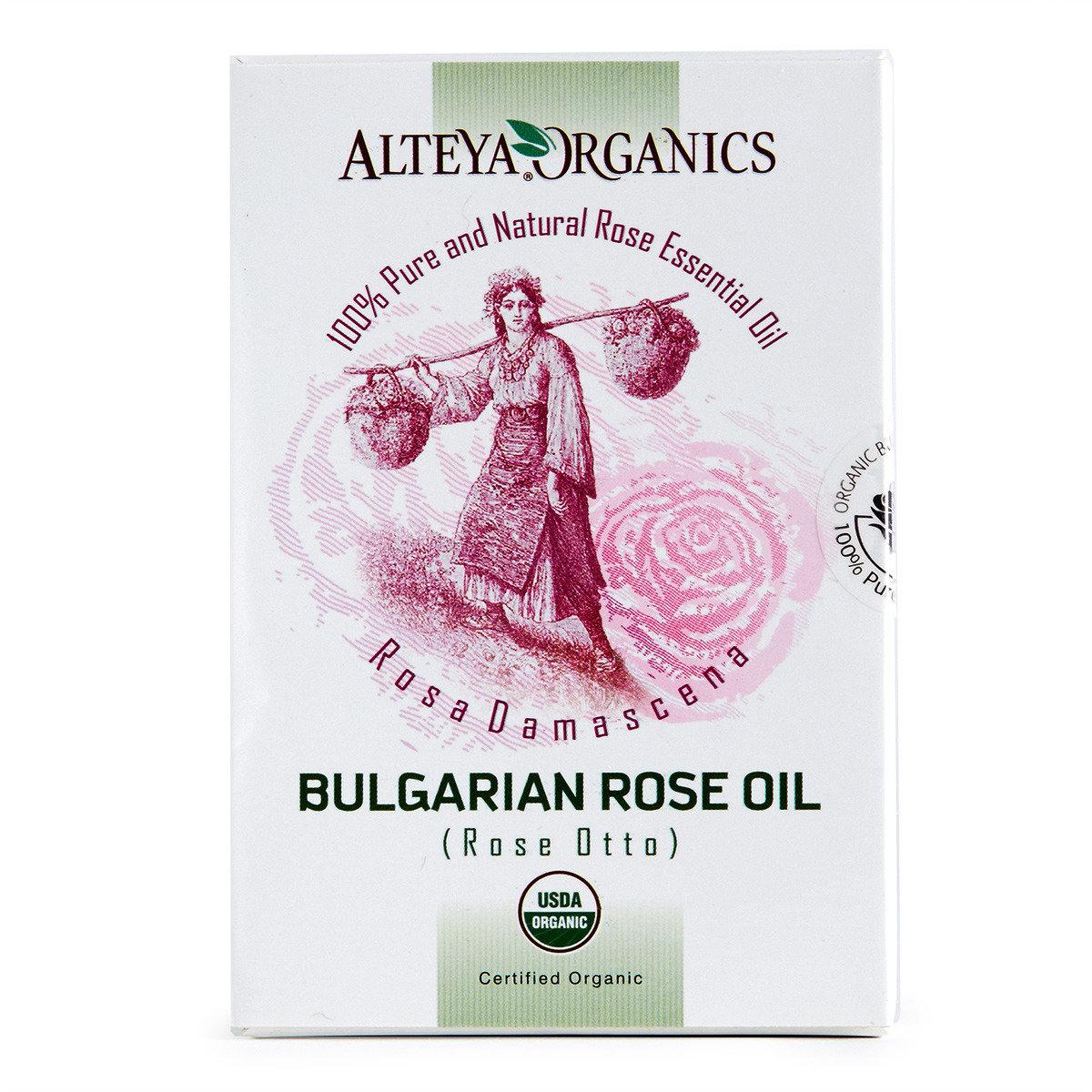 有機保加利亞玫瑰精油 (奧圖玫瑰)