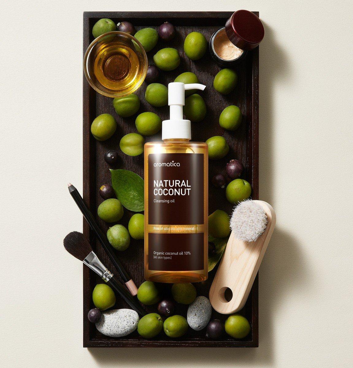 天然椰子卸妝油