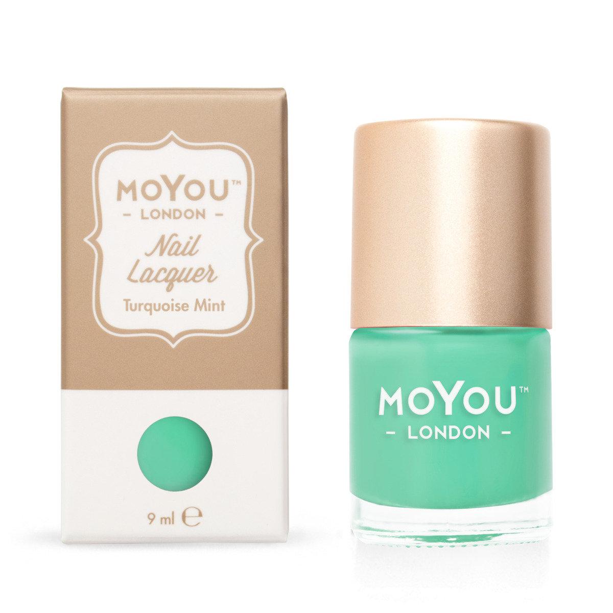 快乾指甲油 - Turquoise Mint #10