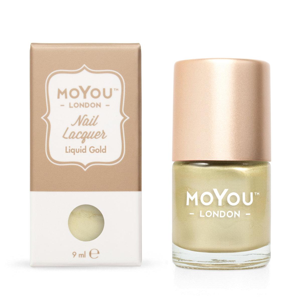 快乾指甲油 - Liquid Gold #53