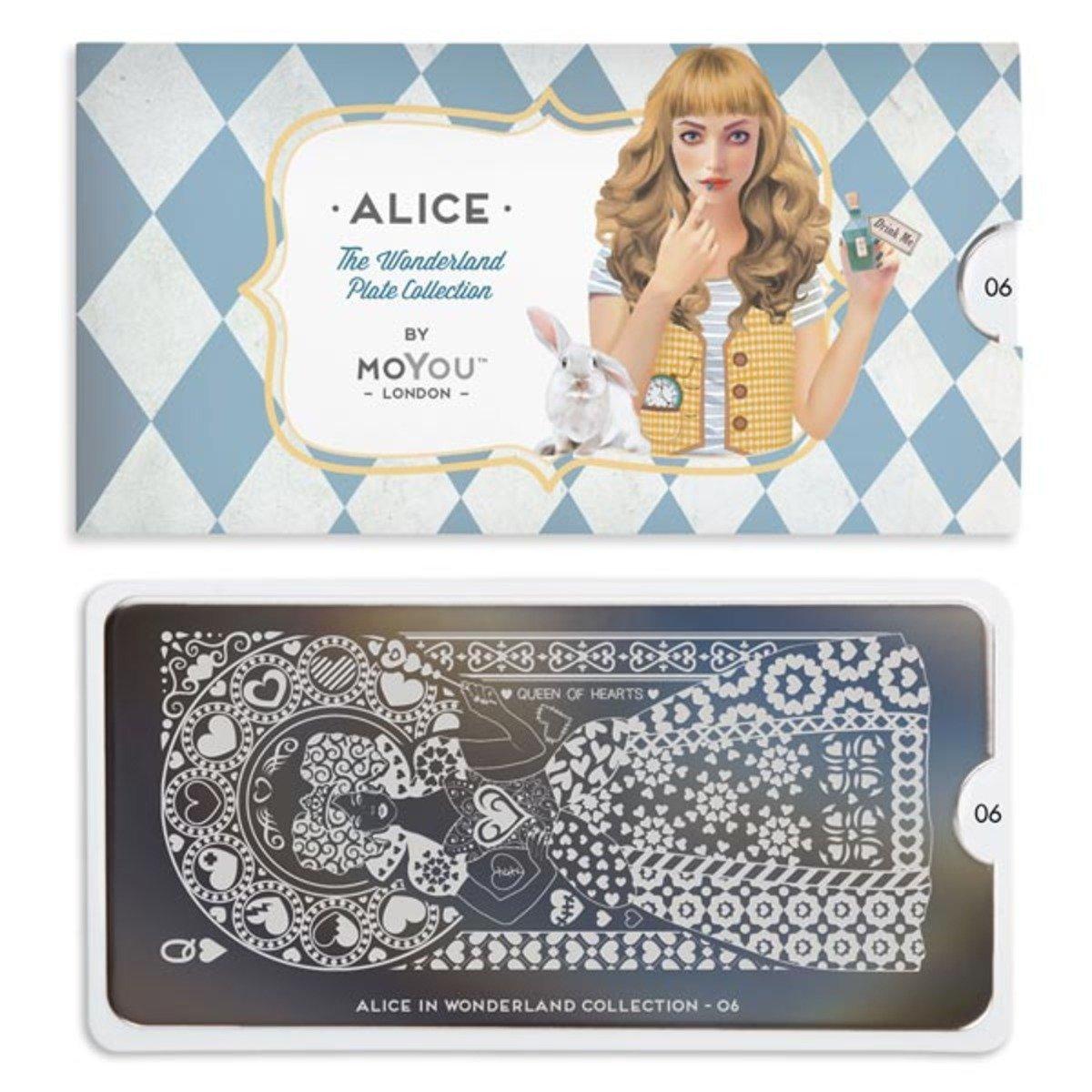 印花板 - 愛麗絲系列 06