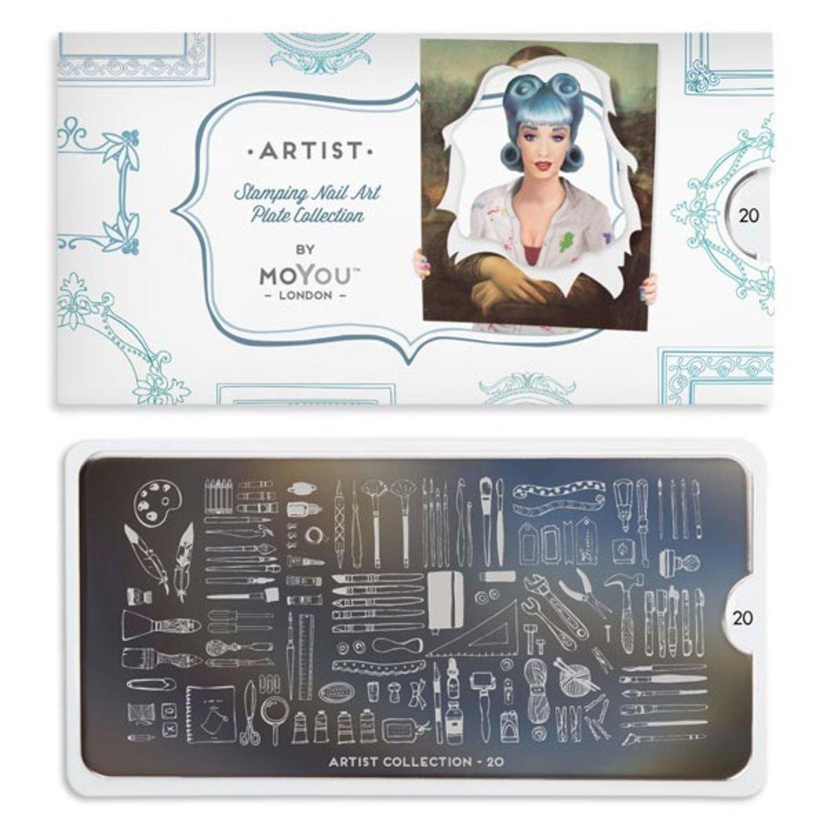 印花板 - 藝術家系列 20