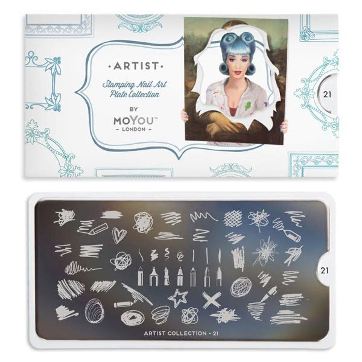 印花板 - 藝術家系列 21