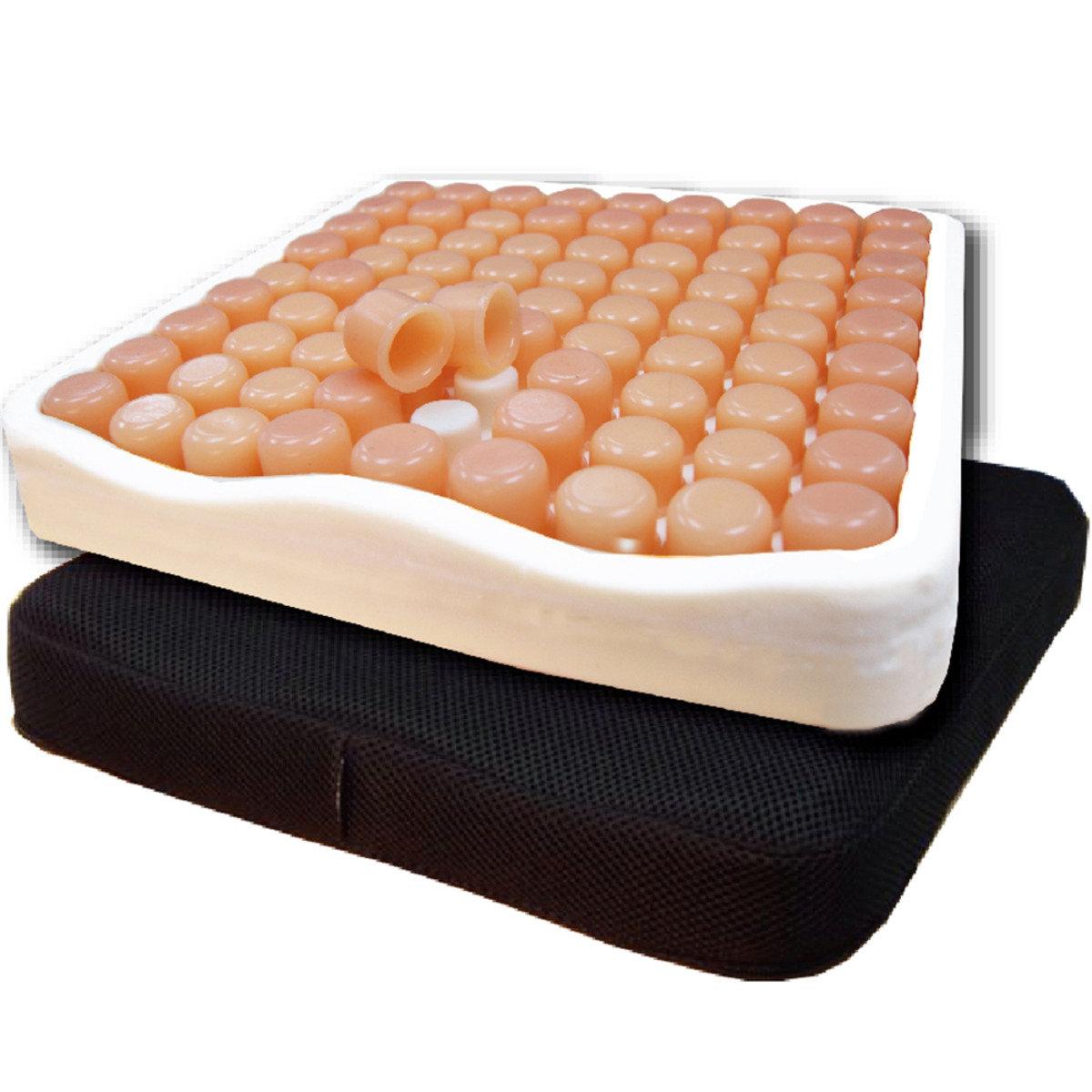 比利時 V-Comfort 矽膠海綿減壓座墊 (可拆式矽膠帽)