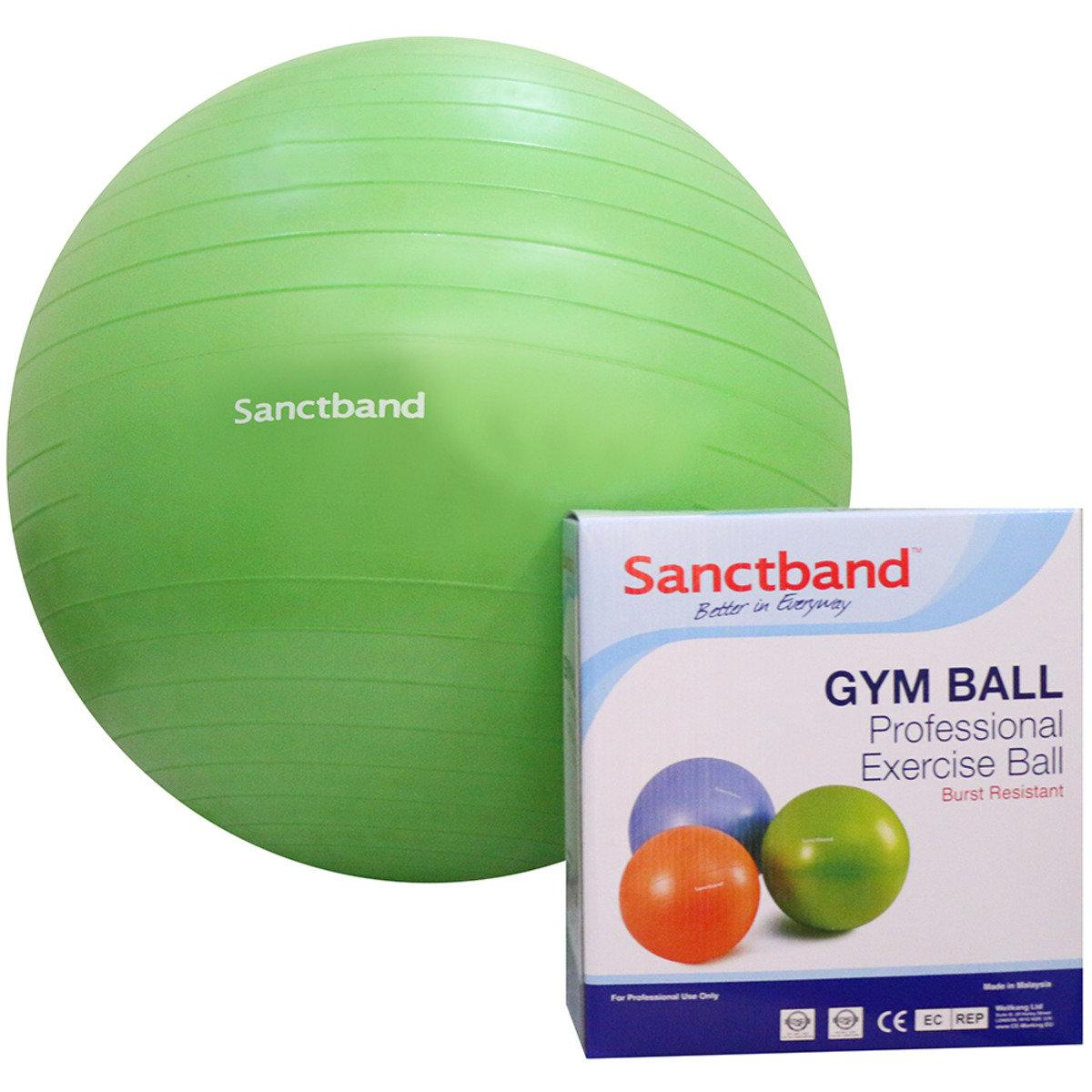 專業運動球 (備3個尺寸) - 65cm直徑/綠色