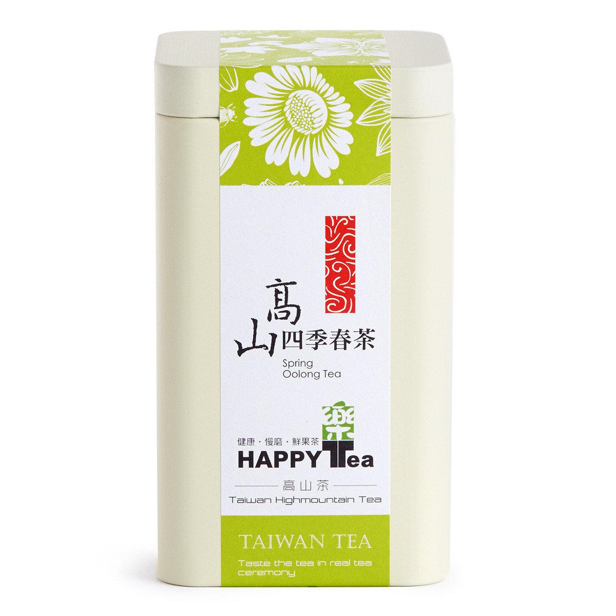 高山四季春茶