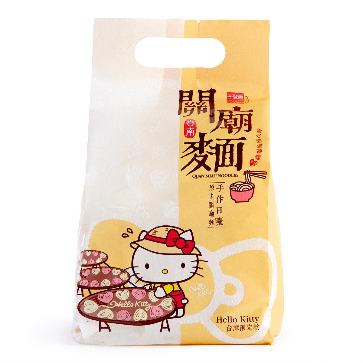 Hello Kitty台南關廟麵