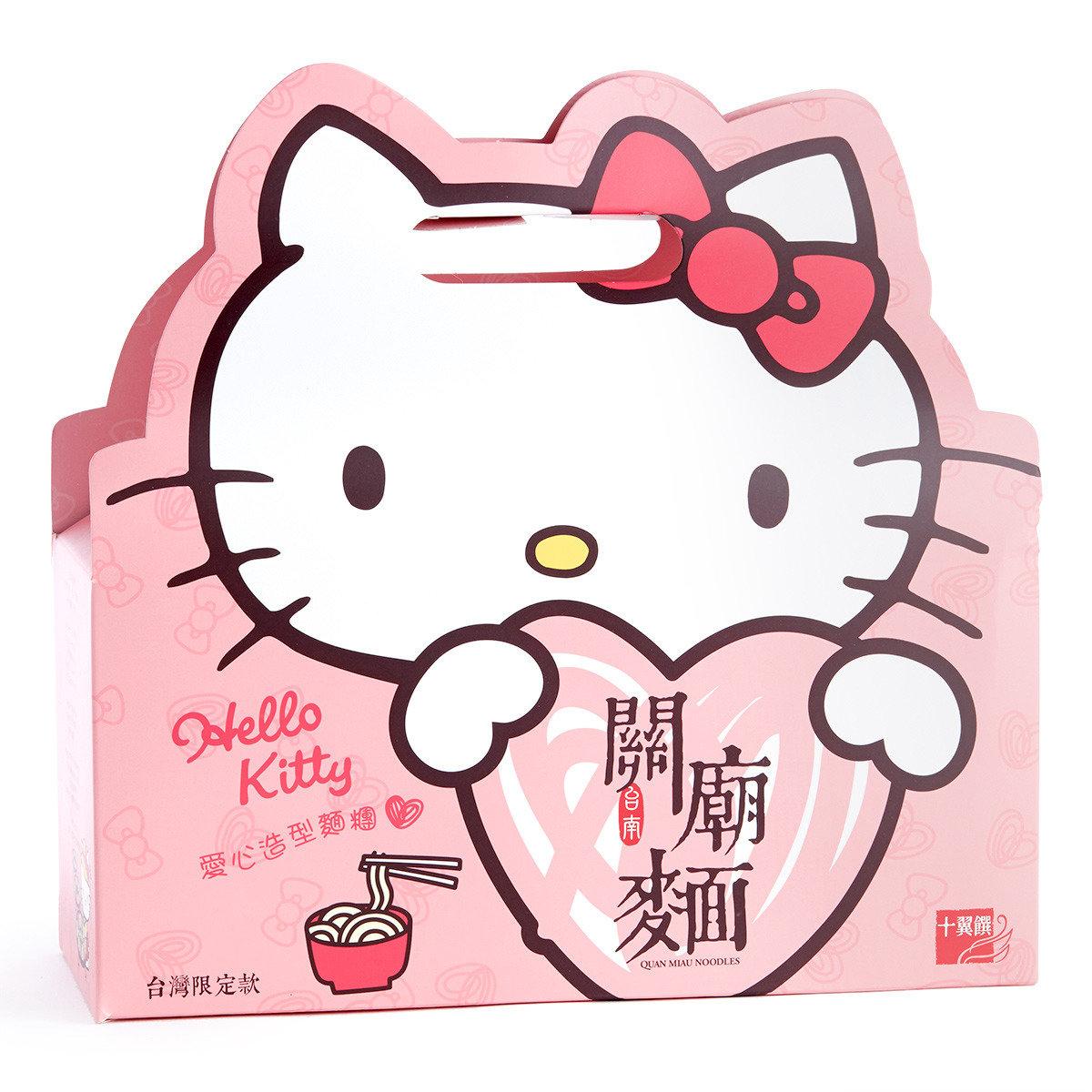 Hello Kitty關廟麵禮盒(關廟麵, 蕎麥關廟麵, 黑芝麻關廟麵) (賞味期限: 2016年11月09日)