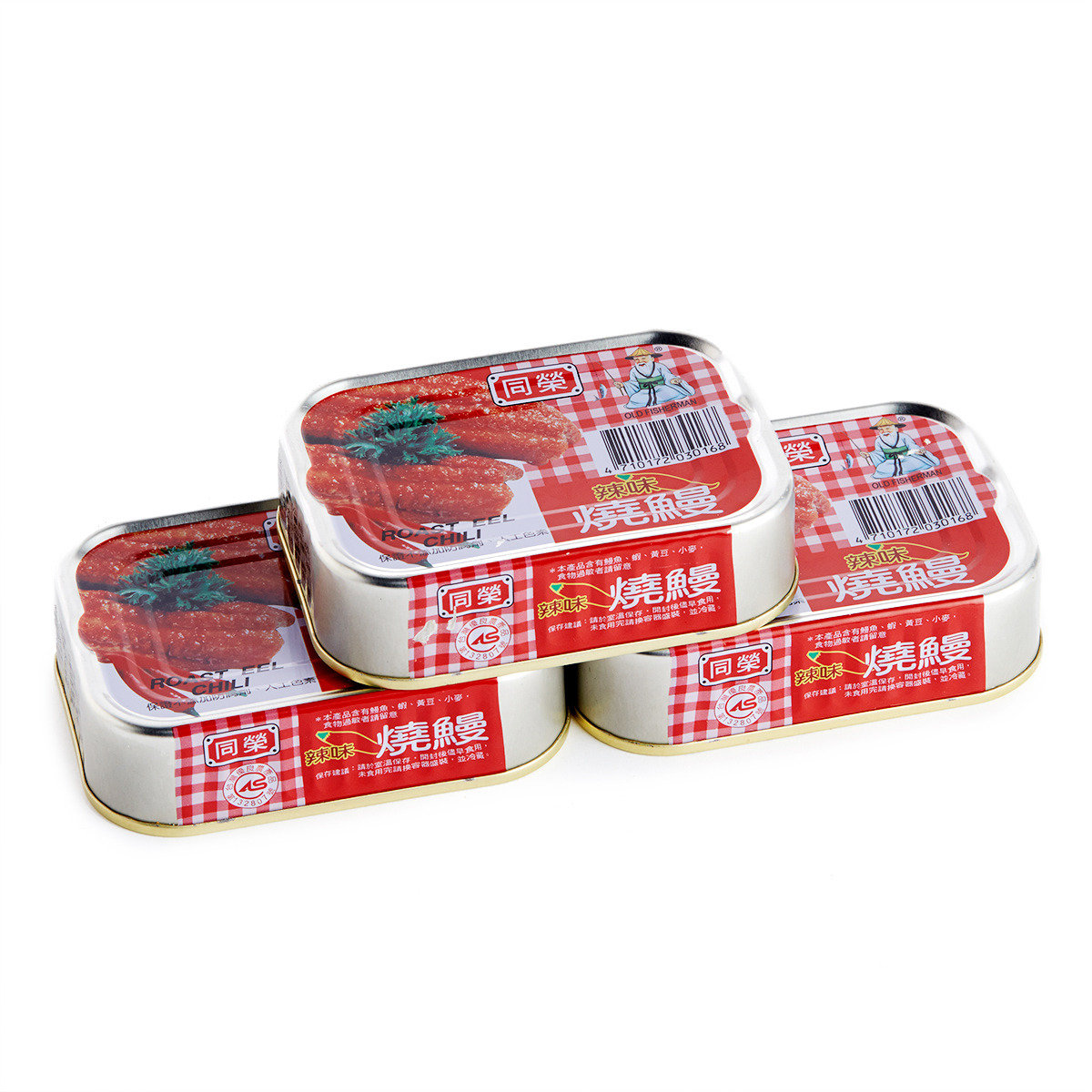辣味燒鰻罐頭