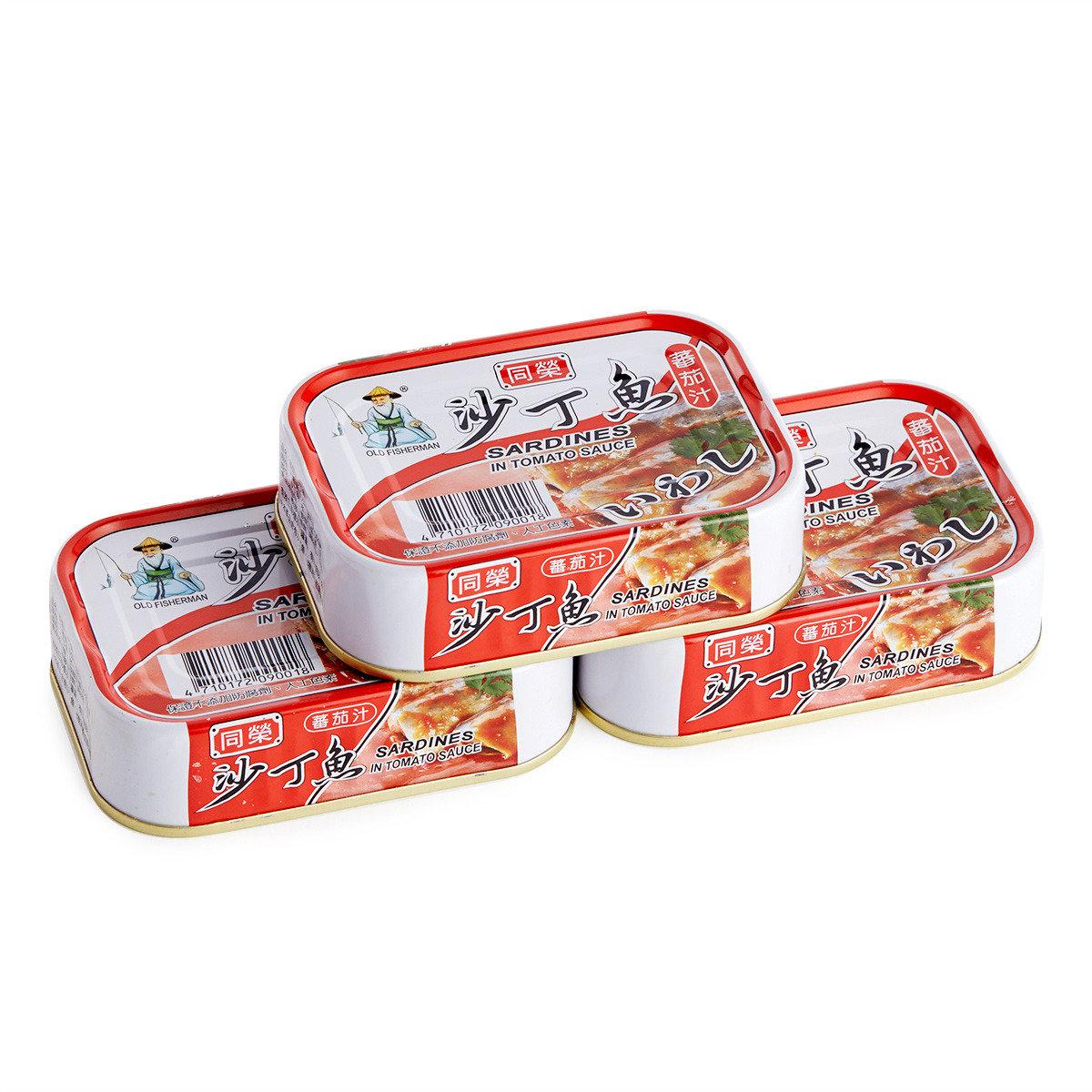 蕃茄汁沙丁魚罐頭