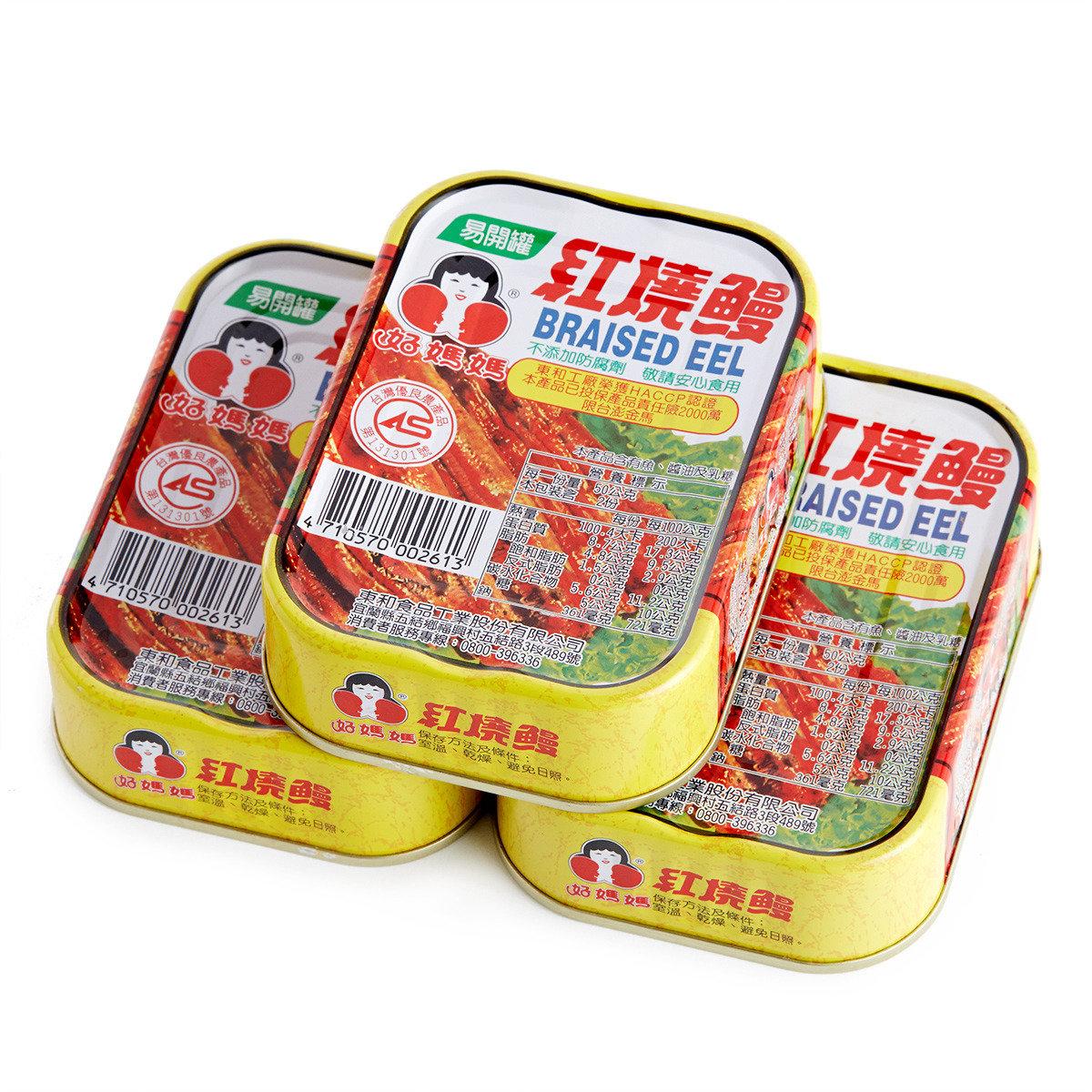 紅燒鰻罐頭