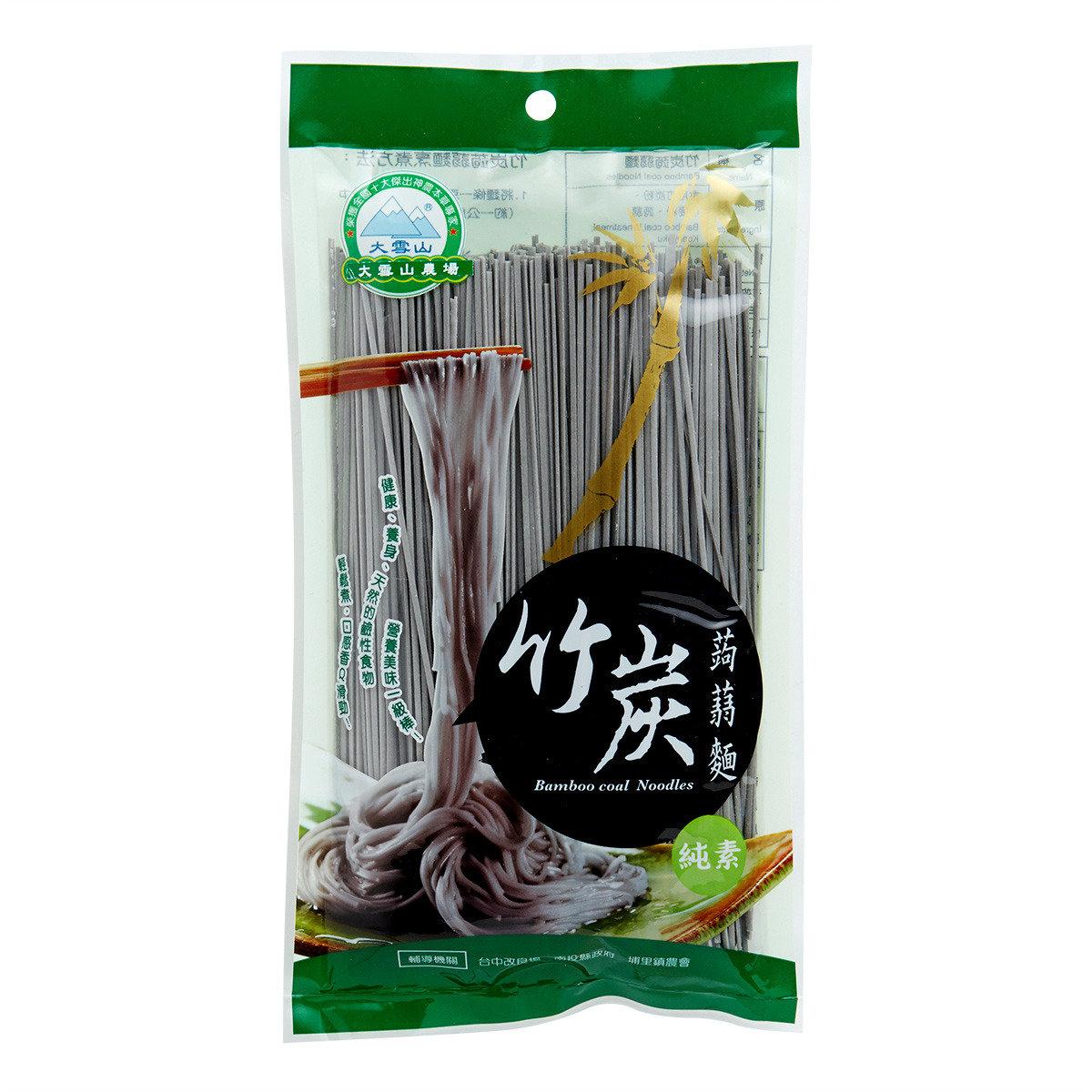 竹炭蒟蒻麵
