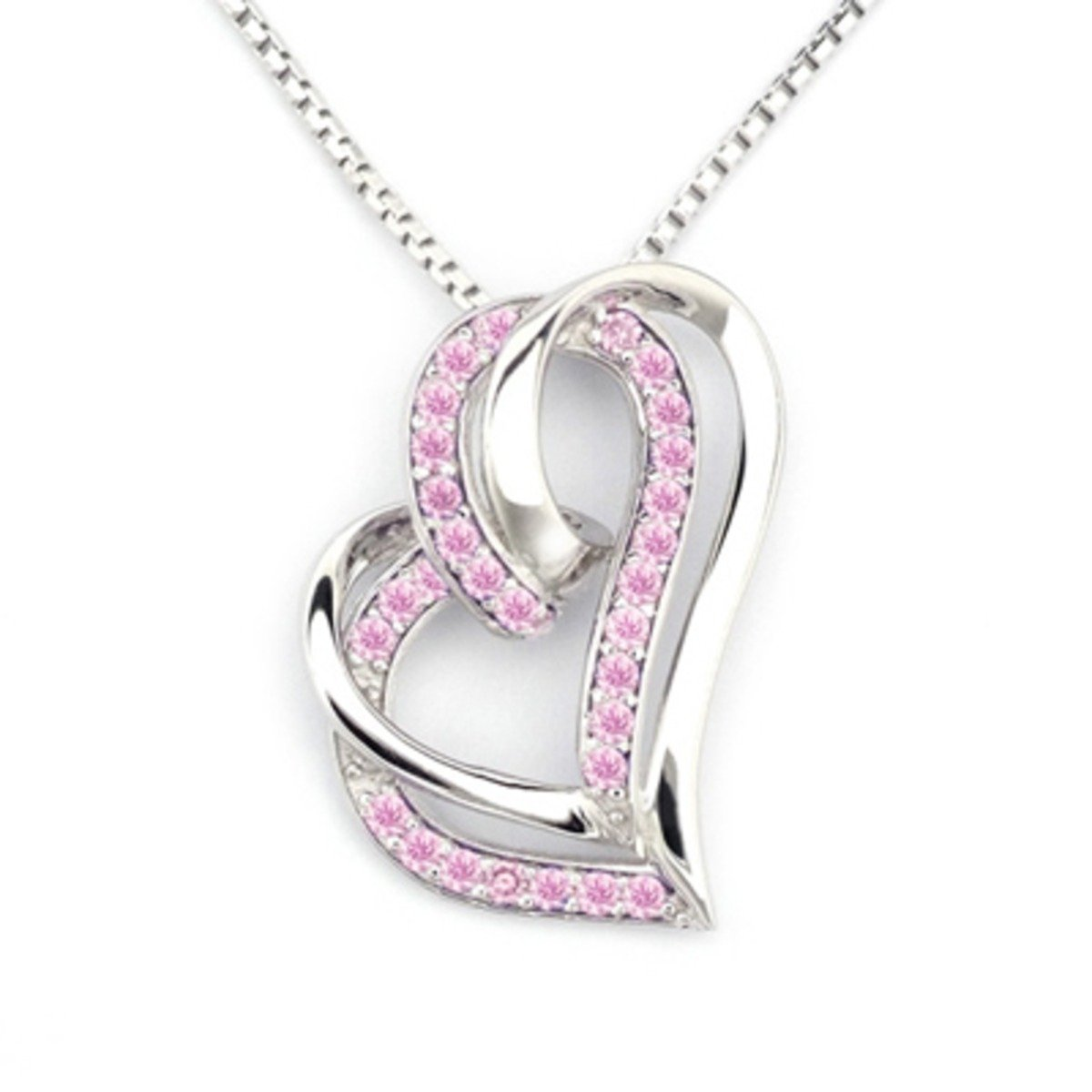 「熱戀甜心」項鏈 - 925 純銀