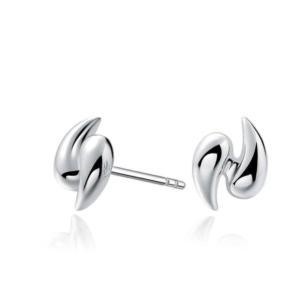 小漩風 925 純銀耳環