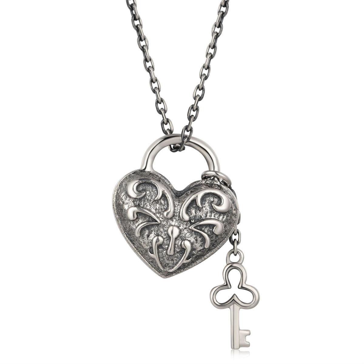「心鎖」 項鍊 - 925 純銀