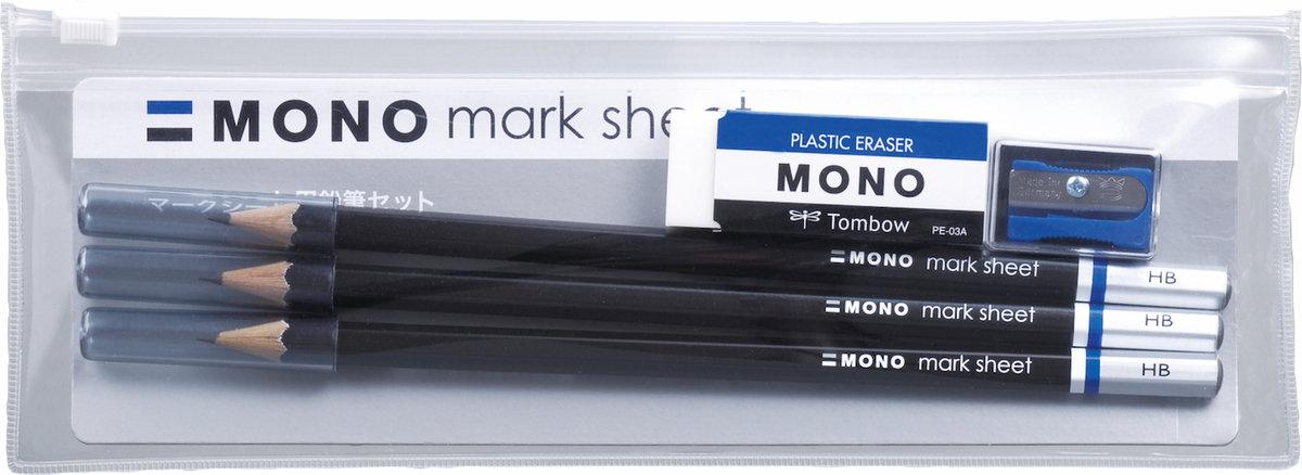 Mono 考試鉛筆套裝 (HB)