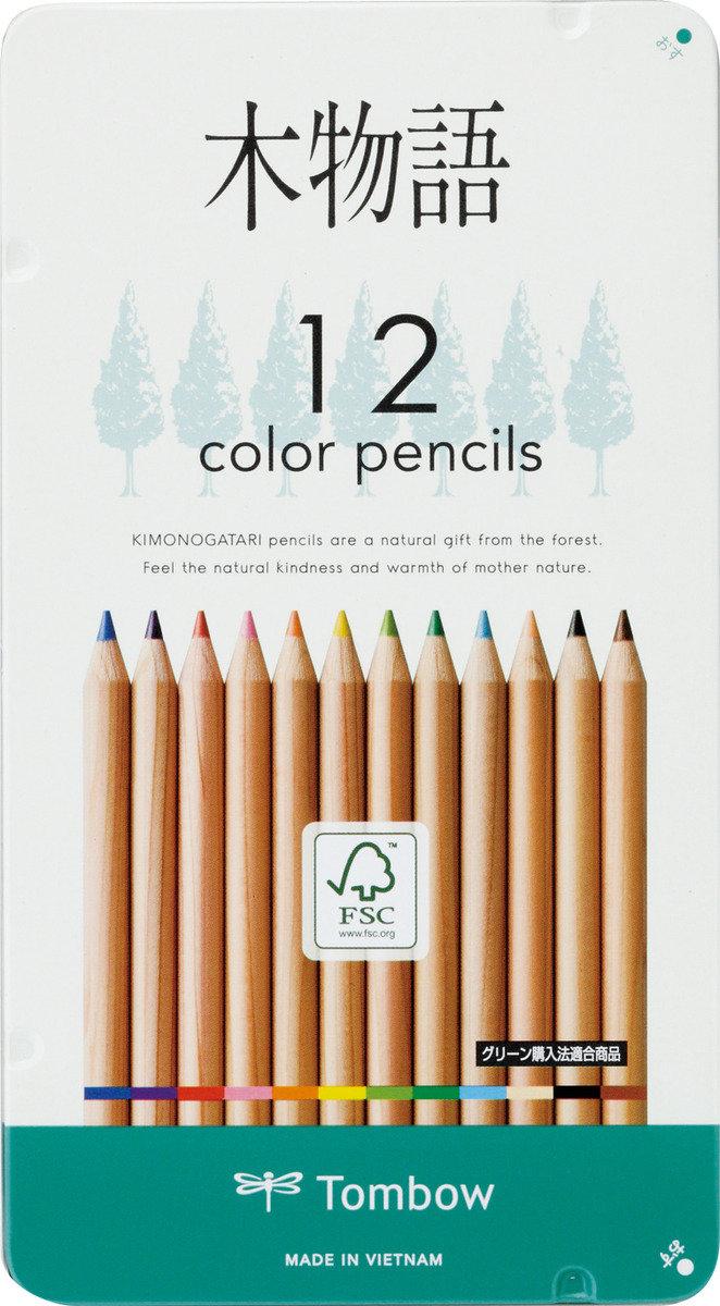 木物語木顏色 12色(鐵盒裝)